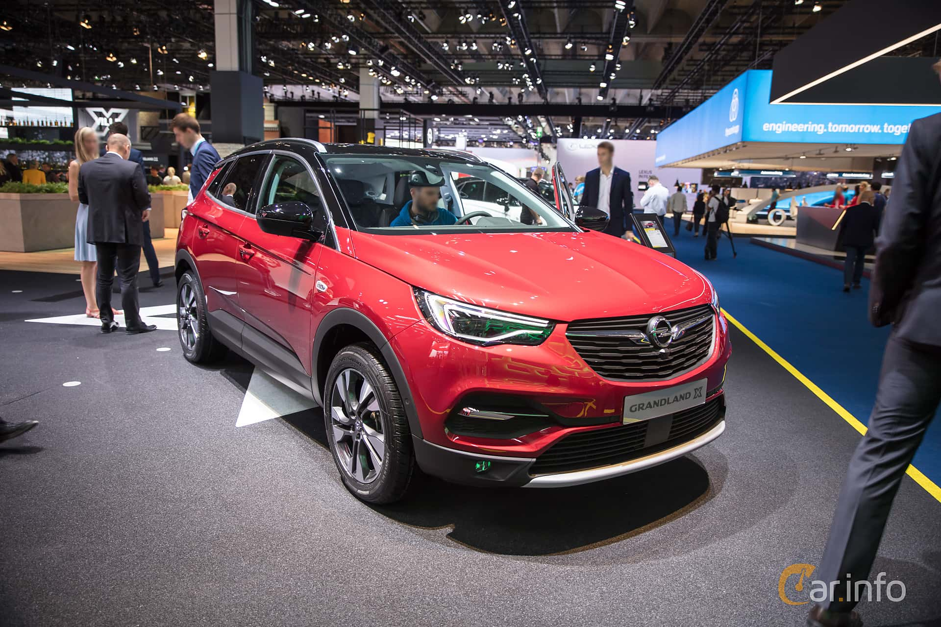 4 images of opel grandland x 1 6 120hp 2018 by franzhaenel. Black Bedroom Furniture Sets. Home Design Ideas