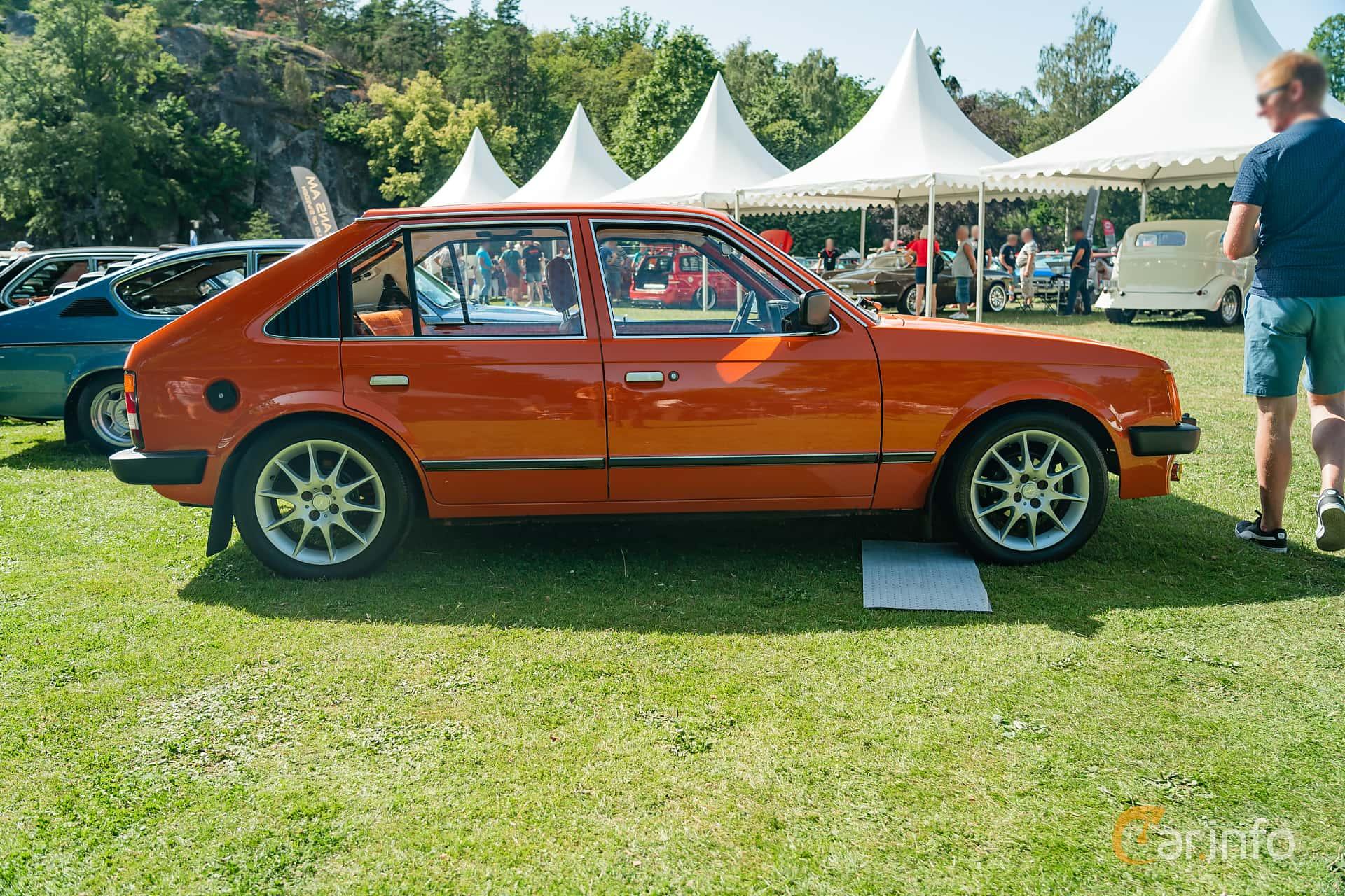 Opel Kadett 1200 S 5-door Hatchback 1.2 Manual, 60hp, 1980 at Ronneby Nostalgia Festival 2019