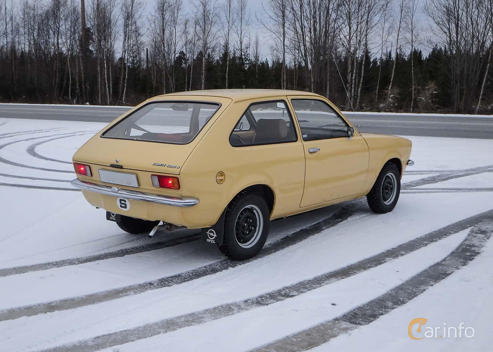 Opel Kadett 1200 S City 1.2 Manuell, 60hk, 1976