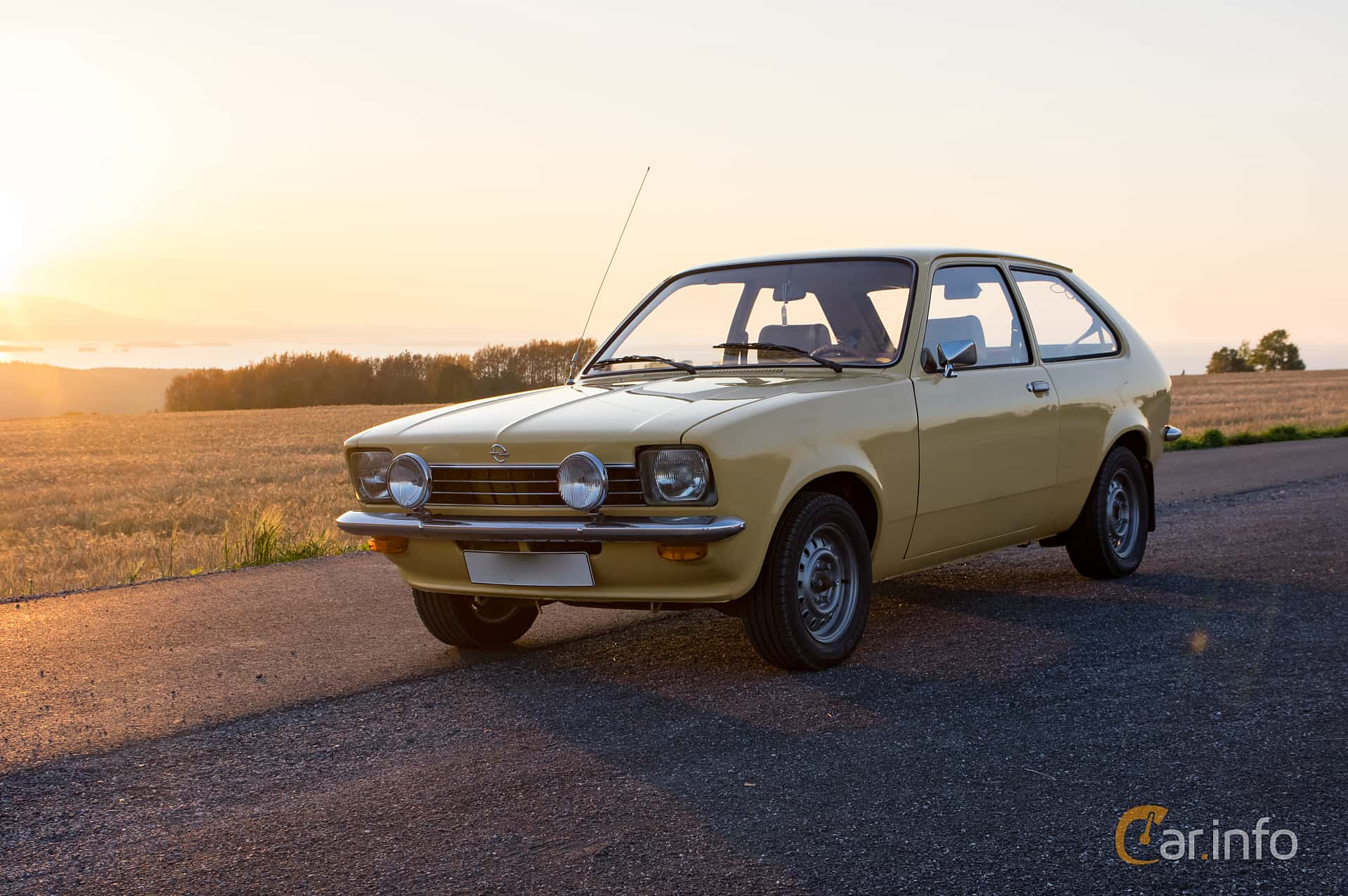 Opel Kadett 1200 S City 1.2 Manual, 60hp, 1976