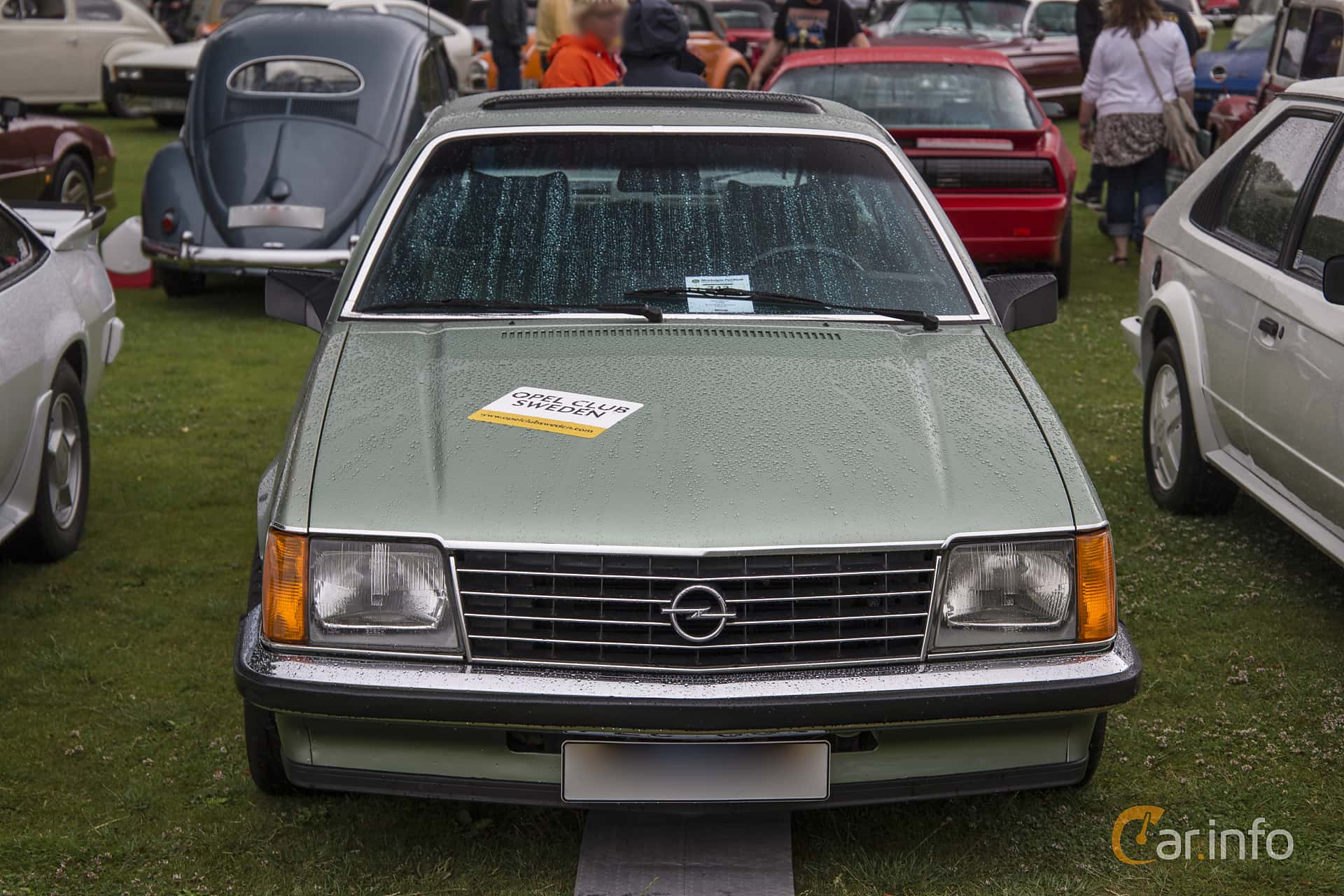 Opel Monza 3.0 Automatic, 180hp, 1982 at Ronneby Nostalgia Festival 2016
