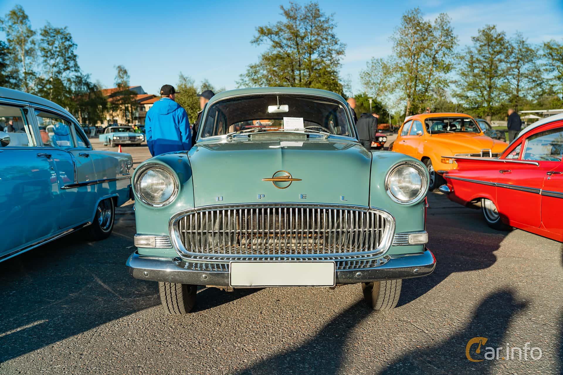 """Opel Olympia Rekord 2-door 1.5 Manual, 45hp, 1957 at Nyköpings hamnträffar 2019 Vecka 20  Tema: """"Kvinnor vid ratten"""""""