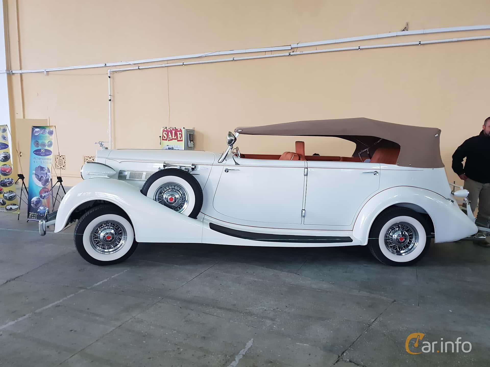 8 images of Packard Twelve 1508 Convertible Sedan 7 8 V12