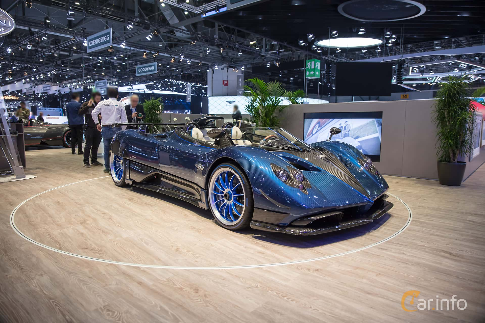 7 images of pagani zonda hp barchetta 7 3 v12 amg manual 802hp 2017 by jarbo. Black Bedroom Furniture Sets. Home Design Ideas