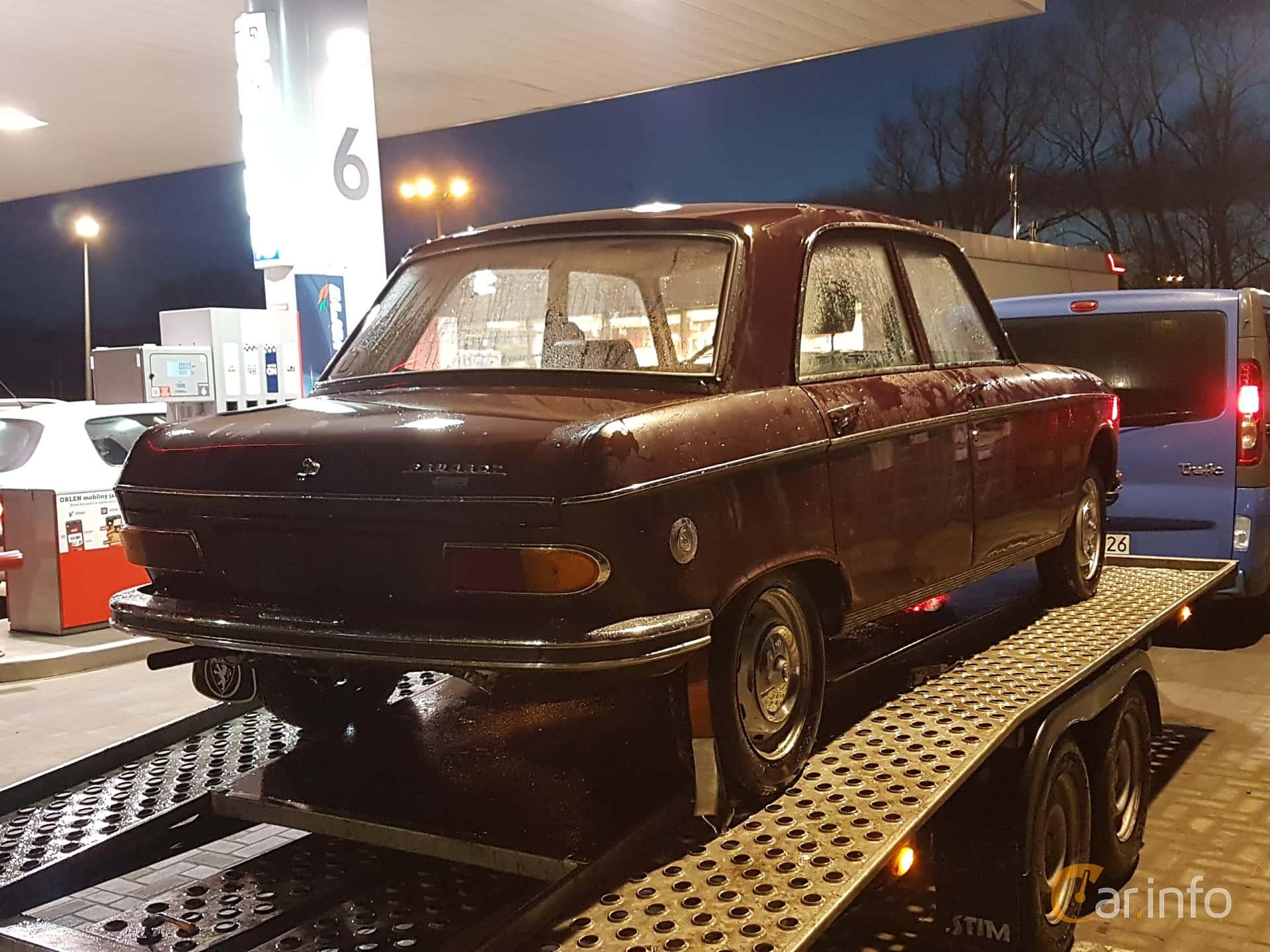 Peugeot 204 Sedan 1.1 Manuell, 54hk, 1972