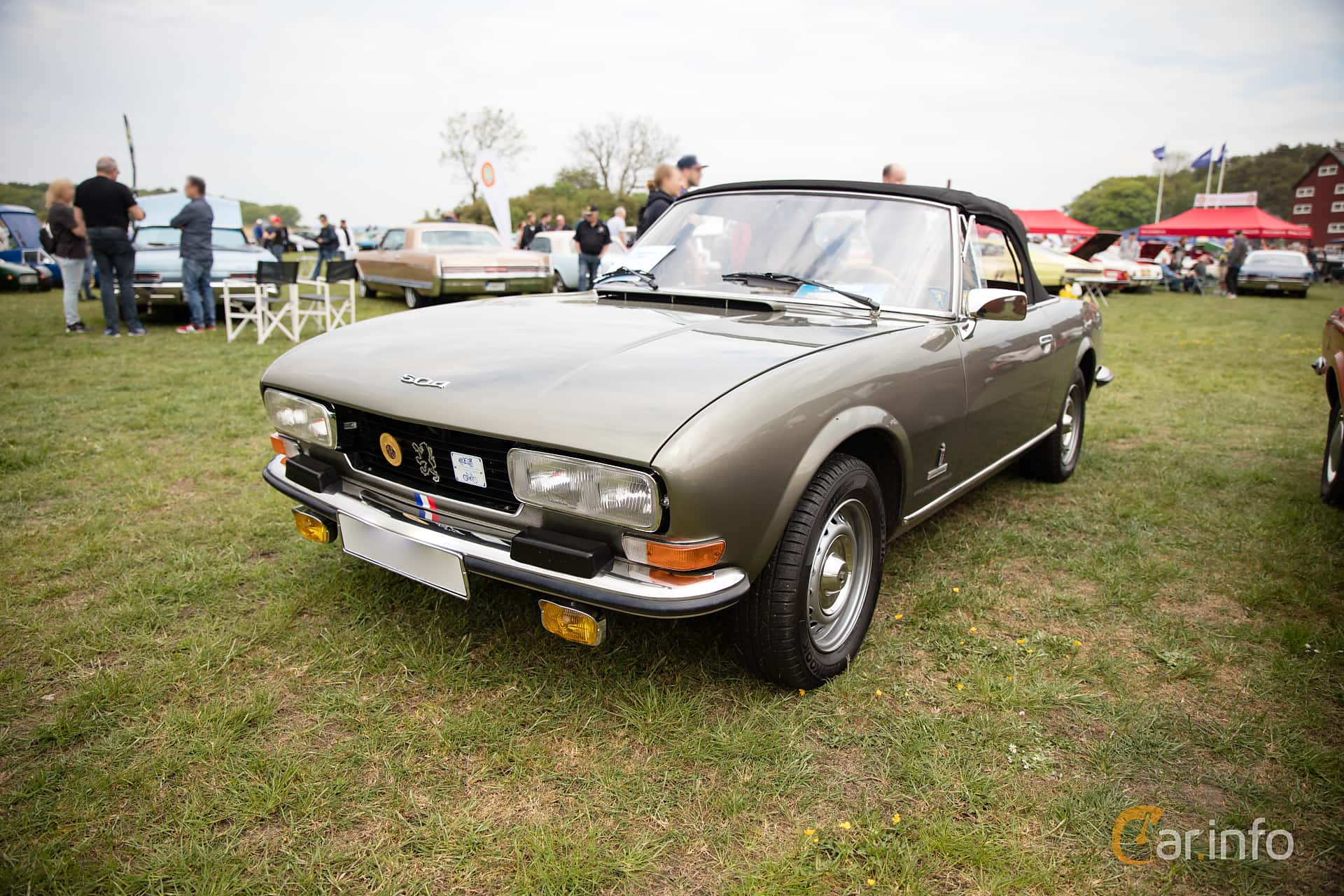 5 Images Of Peugeot 504 Convertible 2 0 Manual 106hp 1979 By
