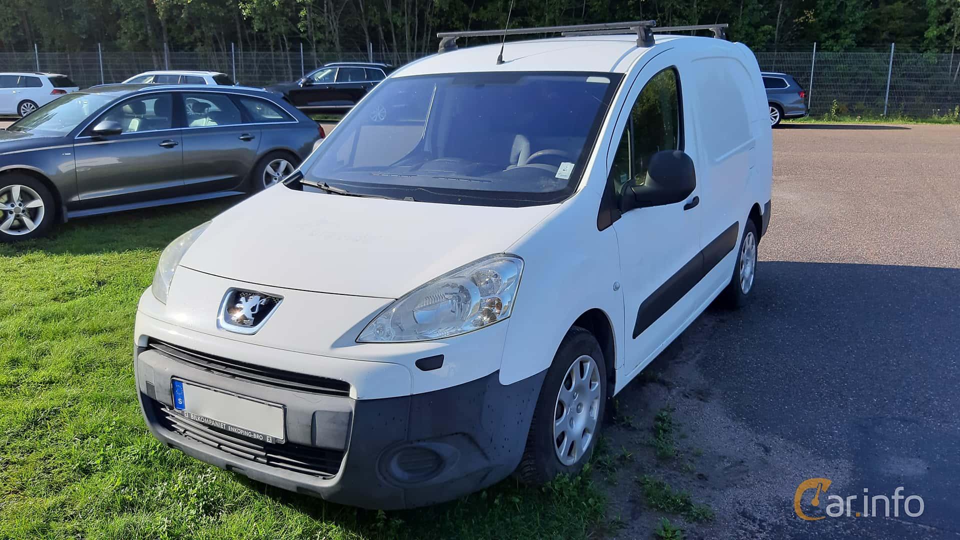Peugeot Partner Van 1.6 HDi Manual, 90hp, 2009