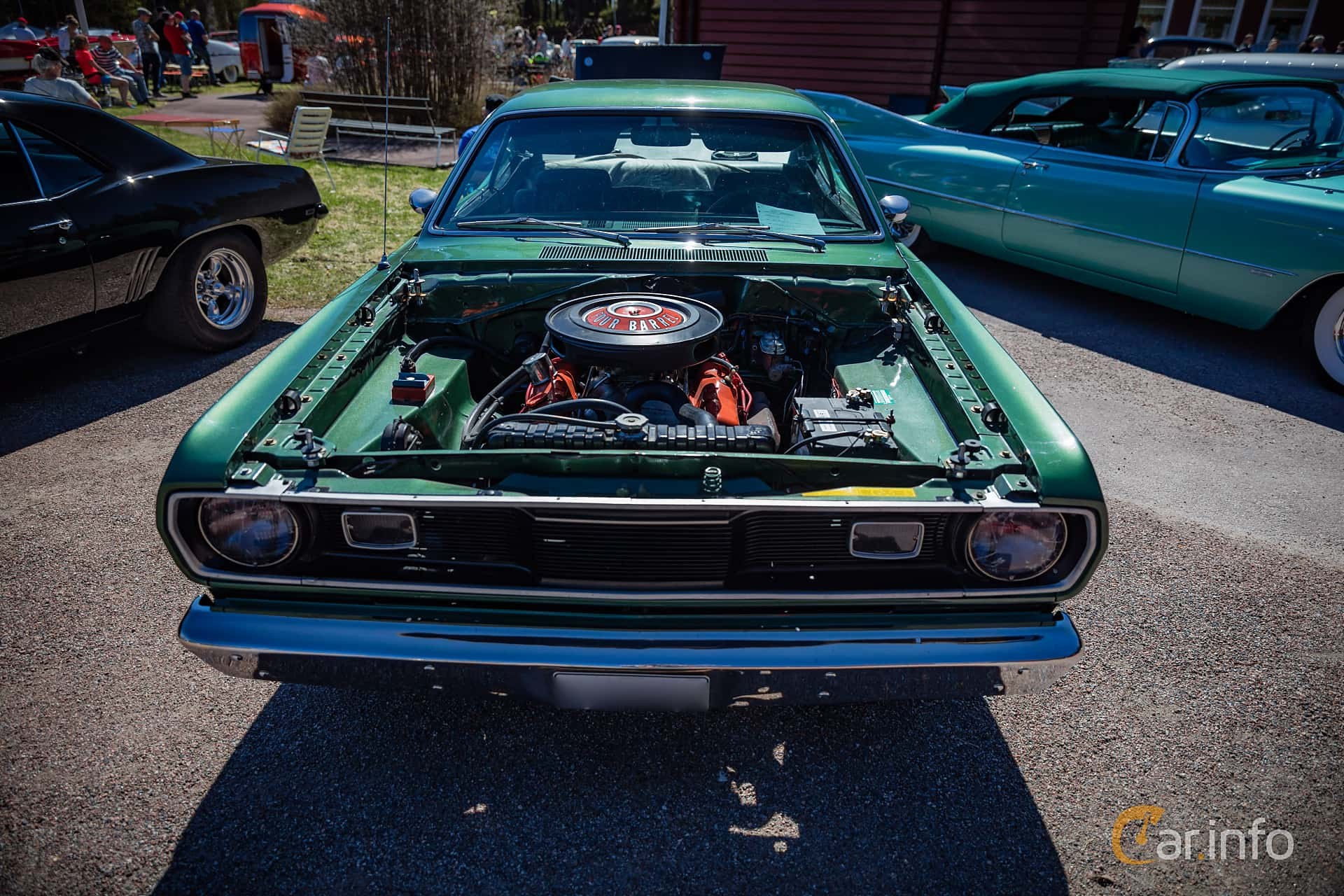 1970 Duster 340 Engine Schematic Electrical Wiring Diagram Plymouth Road Runner Bay 2 Images Of 5 6 V8 Manual 279hp By Wiper