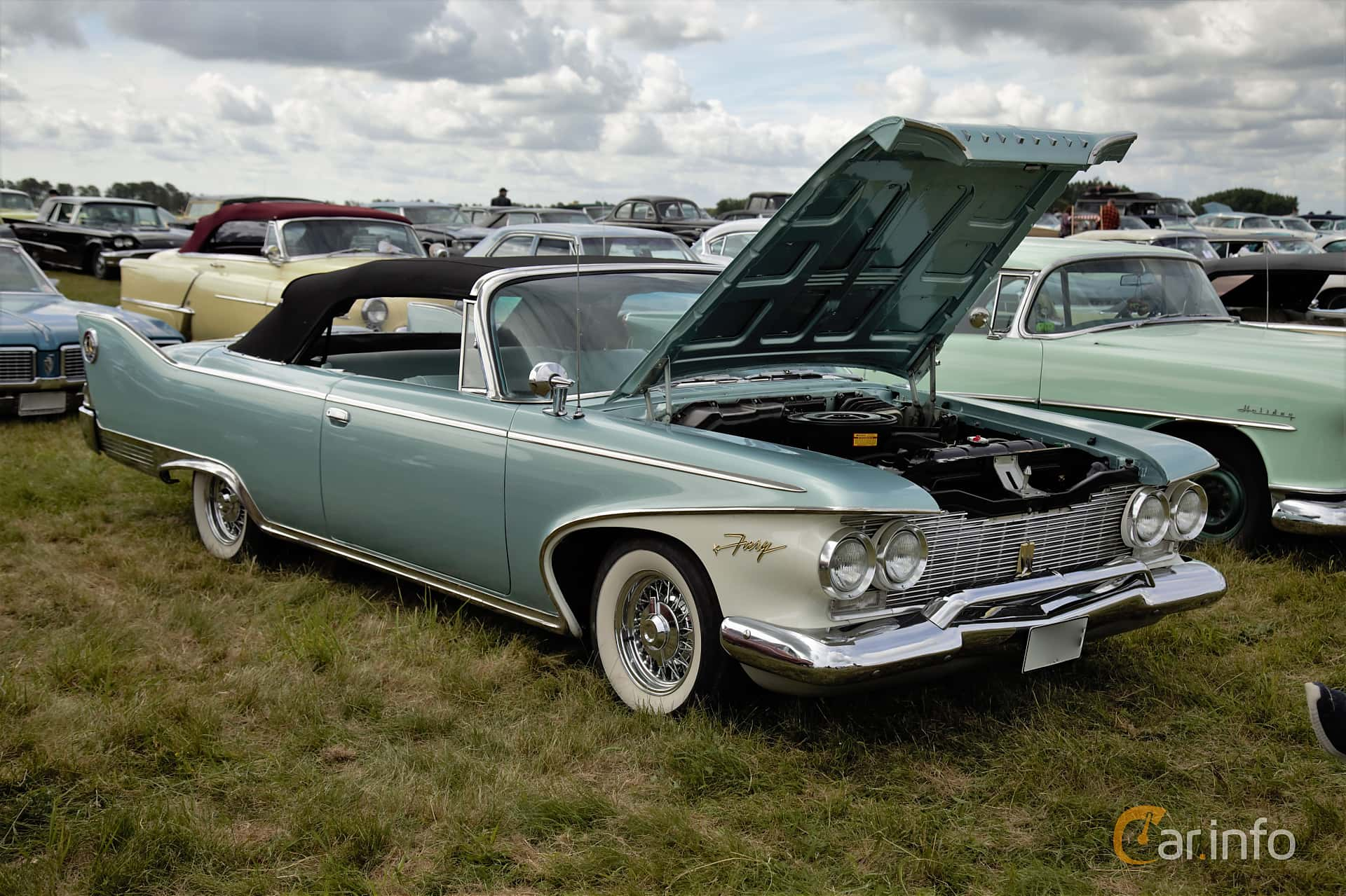 1 Images Of Plymouth Fury Convertible 59 V8 Powerflite 1960 By Espee Front Side At Power Big Meet