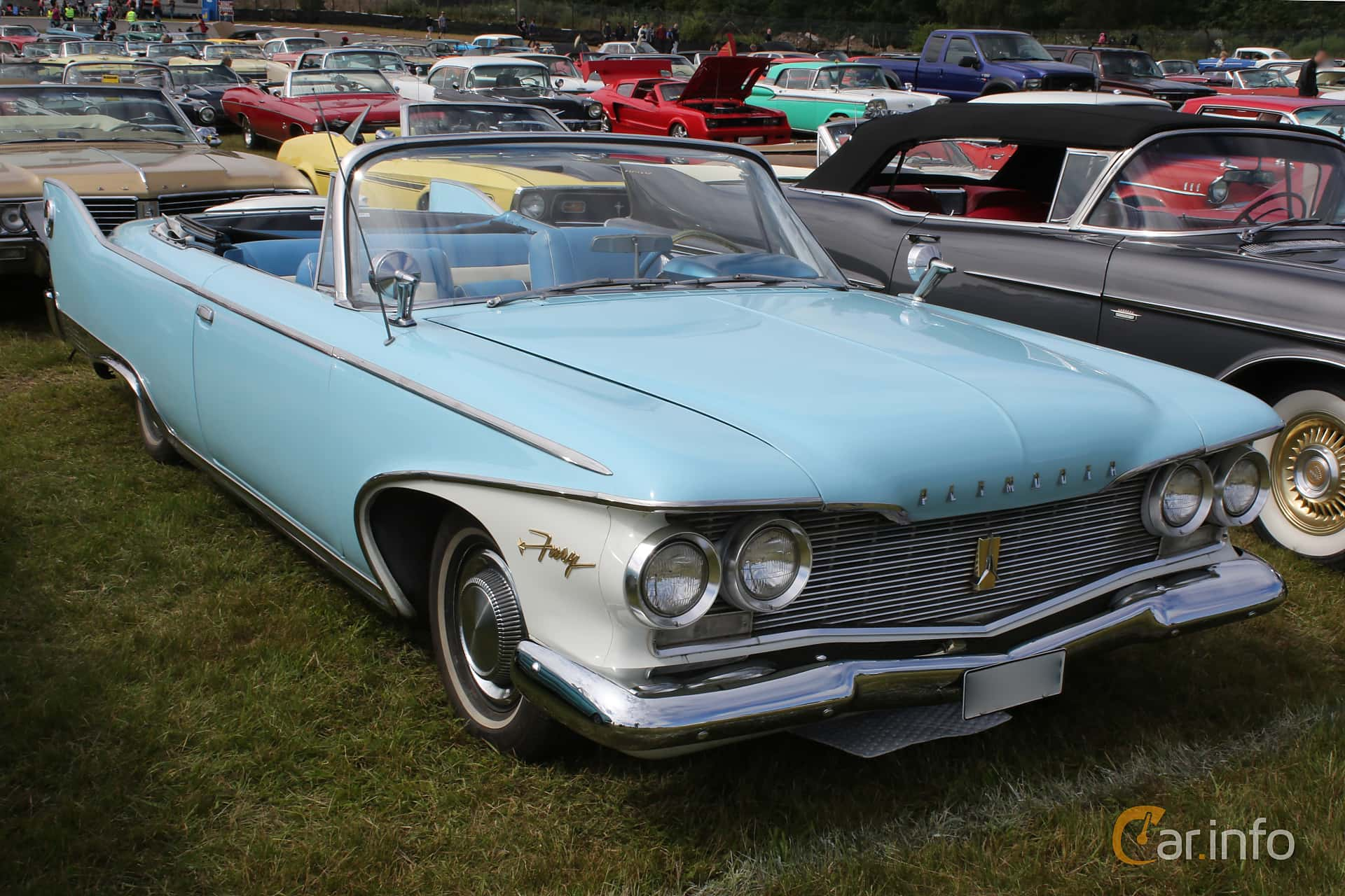 5 Images Of Plymouth Fury Convertible 59 V8 Powerflite 1960 By Espee Front Side At Wheels Wings