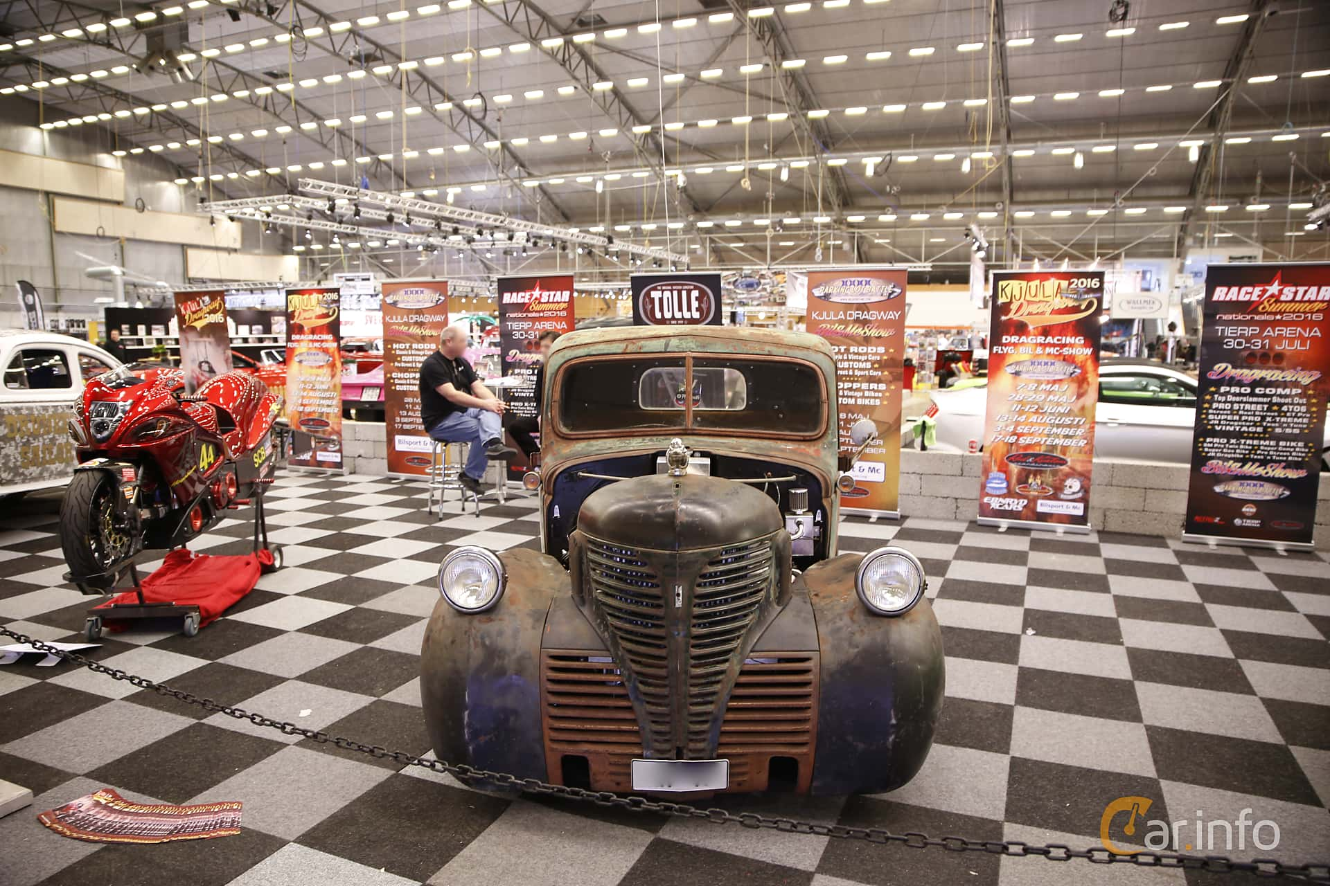 3 Images Of Plymouth Pt Pickup 1941 By Franzhaenel Pro Street Front At Bilsport Performance Custom Motor Show 2016