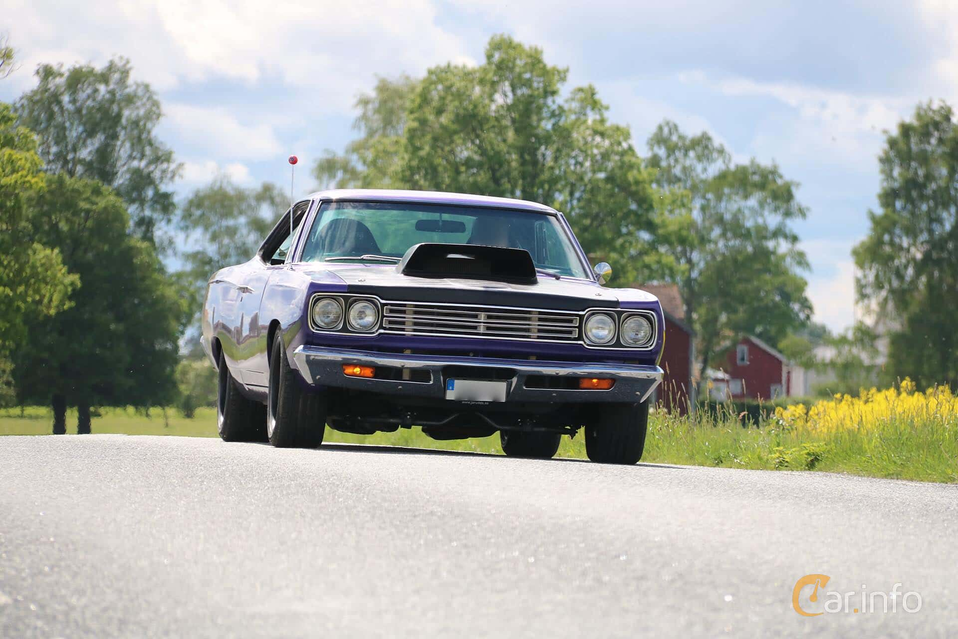 Plymouth Satellite Hardtop 5.2 V8 TorqueFlite, 233hp, 1969