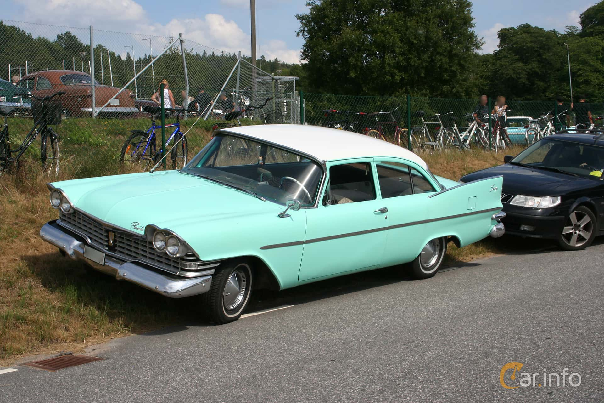 2 Images Of Plymouth Savoy Sedan 59 V8 Manual 1959 By Espee 1960 Front Side