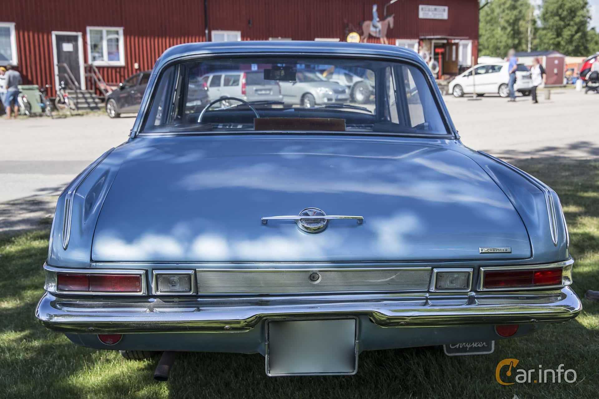 Plymouth Valiant Sedan 2.8 Manual, 102hp, 1963 at Nostalgifestivalen i Vårgårda 2016