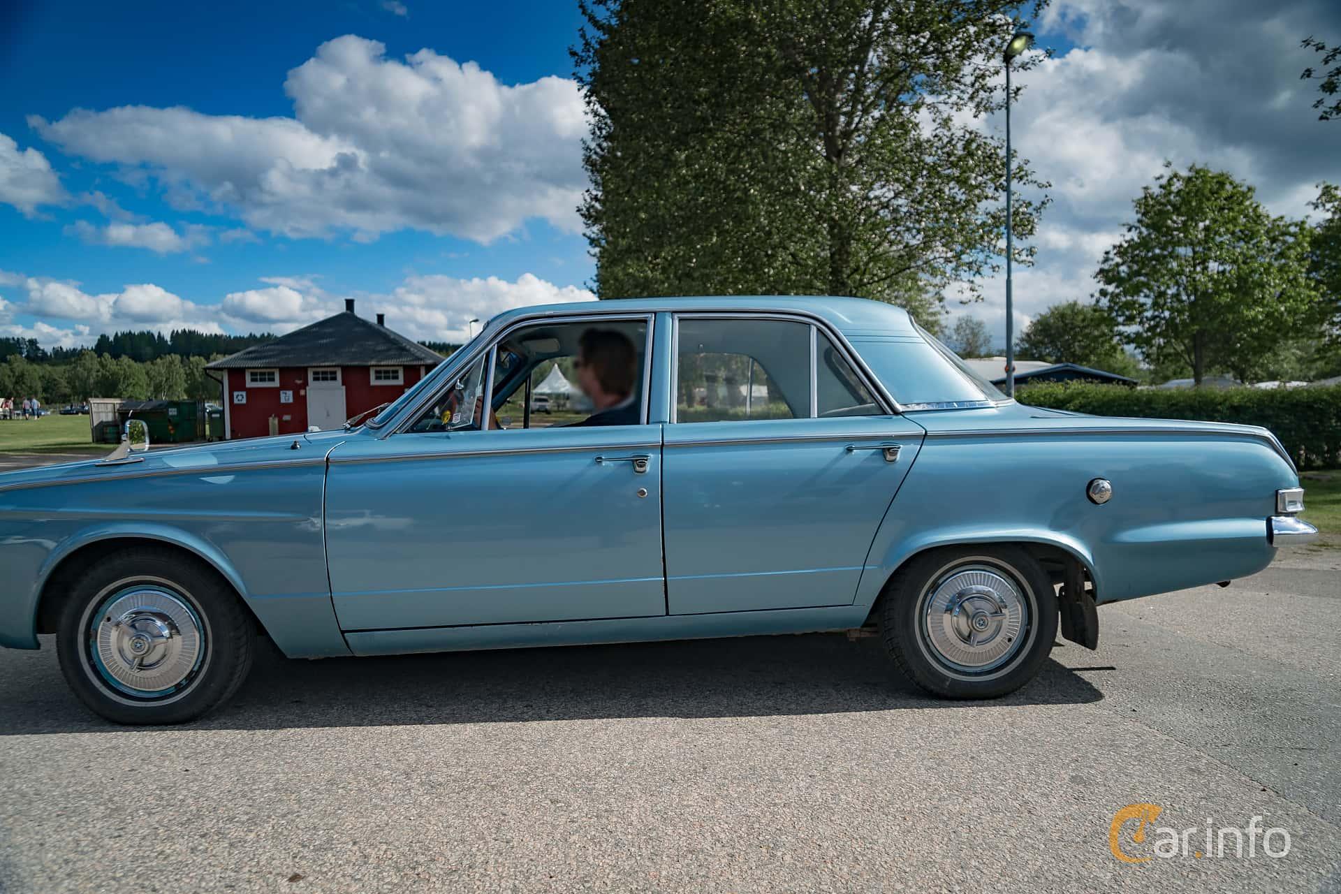 Plymouth Valiant Sedan 2.8 Manual, 102hp, 1963 at Nostalgifestivalen i Vårgårda 2017