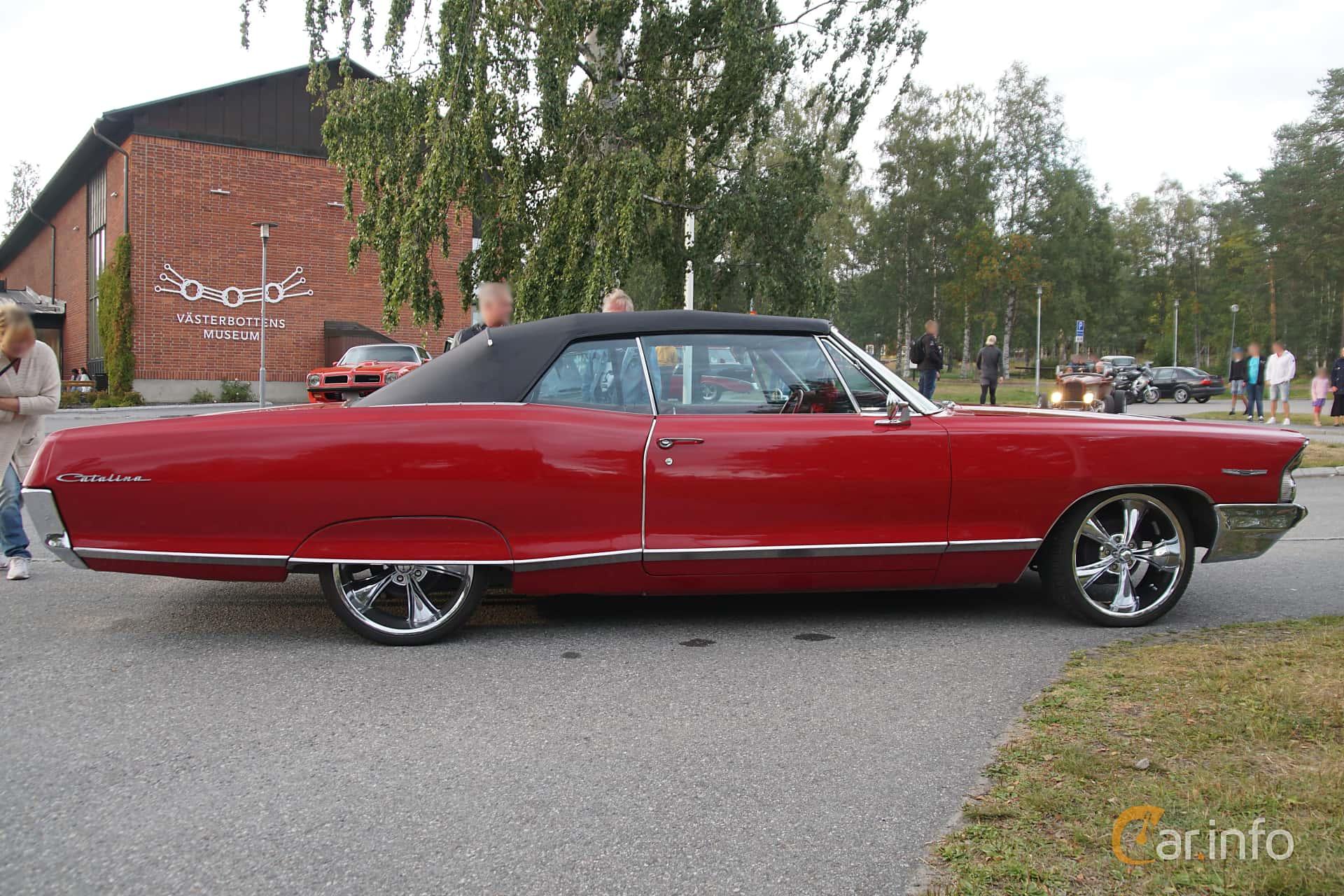 Pontiac Catalina Convertible 6.9 V8 Hydra-Matic, 343hp, 1965 at Onsdagsträffar på Gammlia Umeå 2019 vecka 32