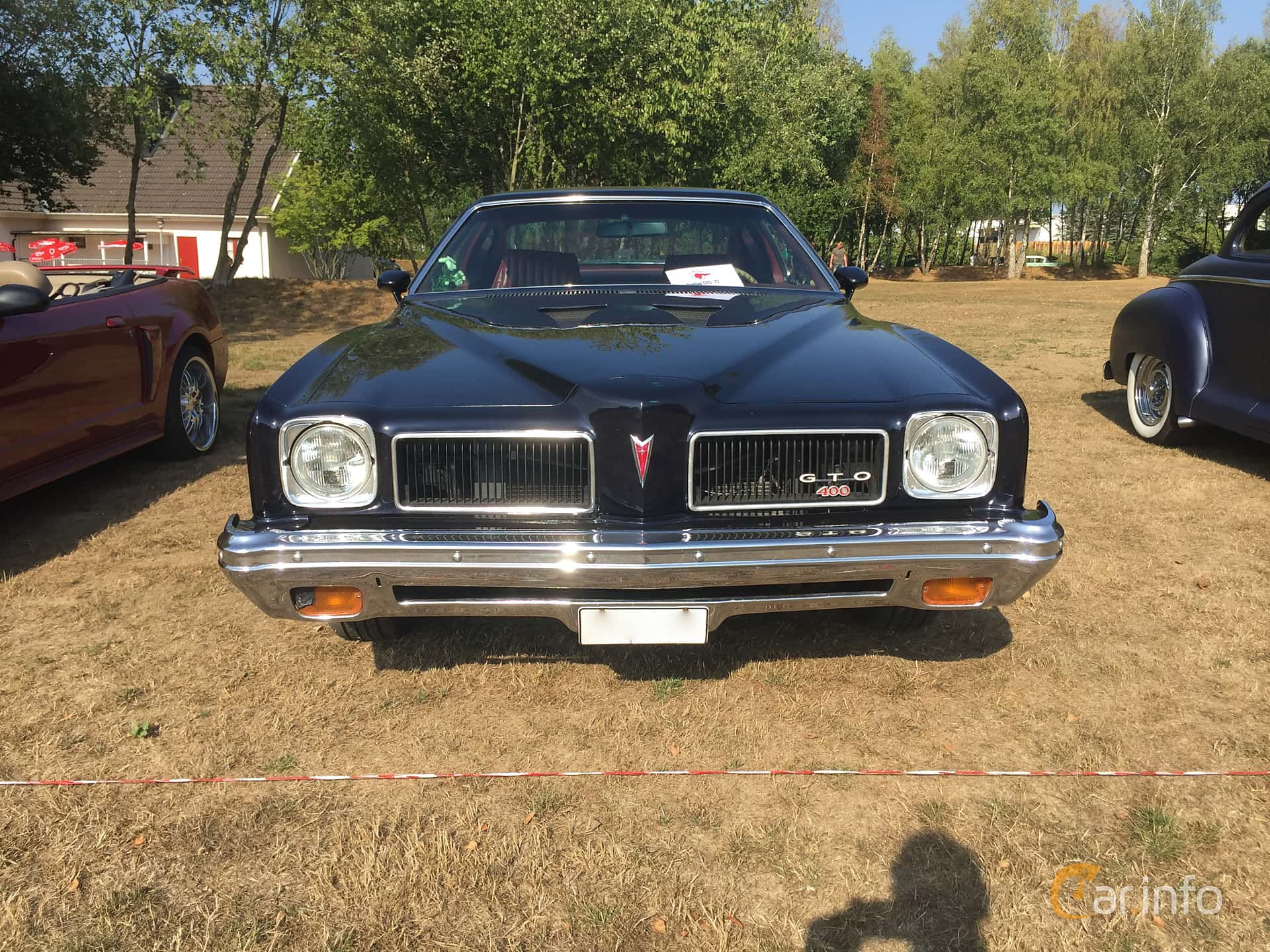 Pontiac LeMans GTO Coupé 6.6 V8 Automatic, 233hp, 1973 at Eddys bilträff Augusti 2018