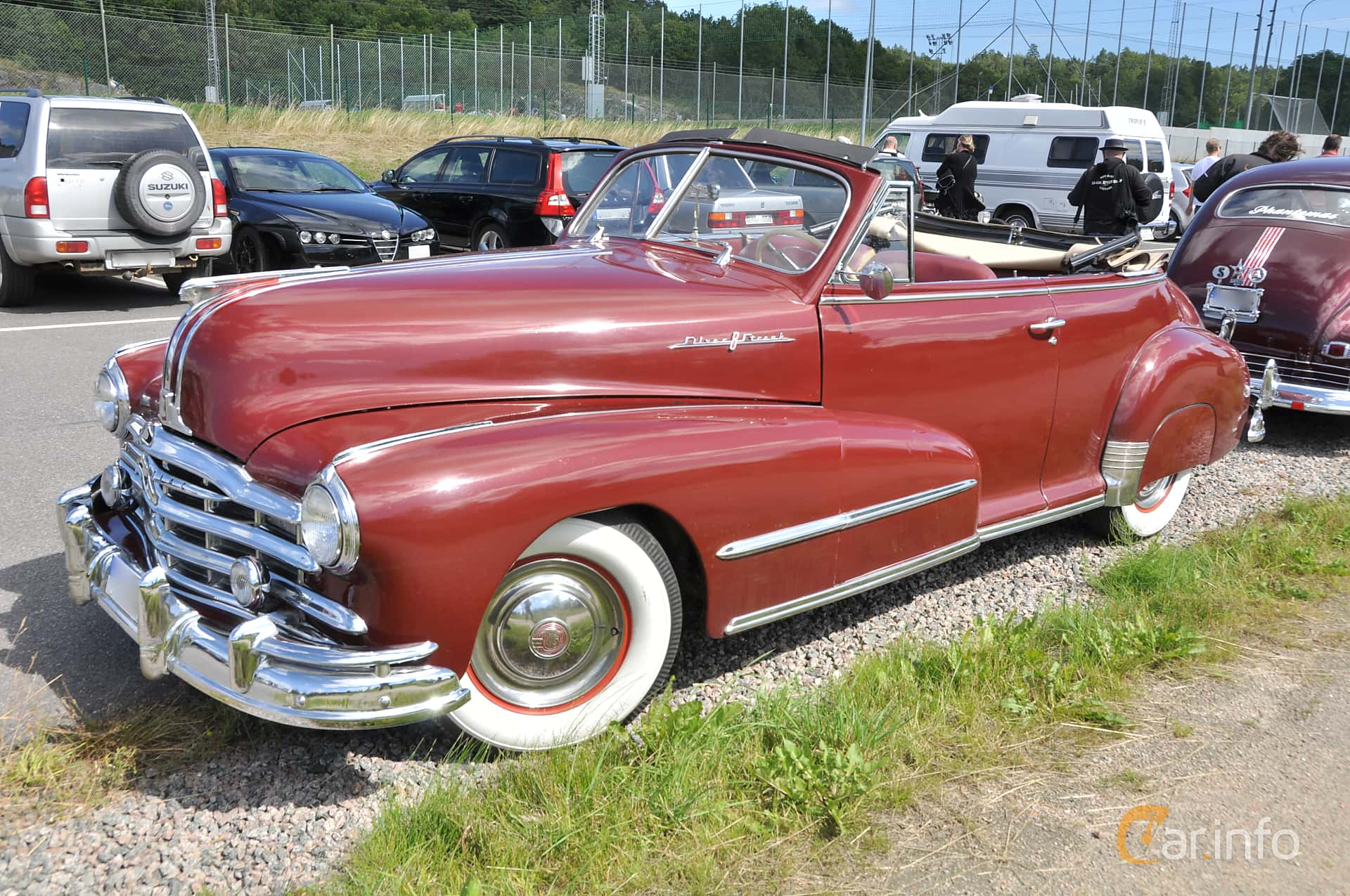 5 Images Of Pontiac Torpedo Convertible 41 Manual 105hp 1948 By Front Side 105ps
