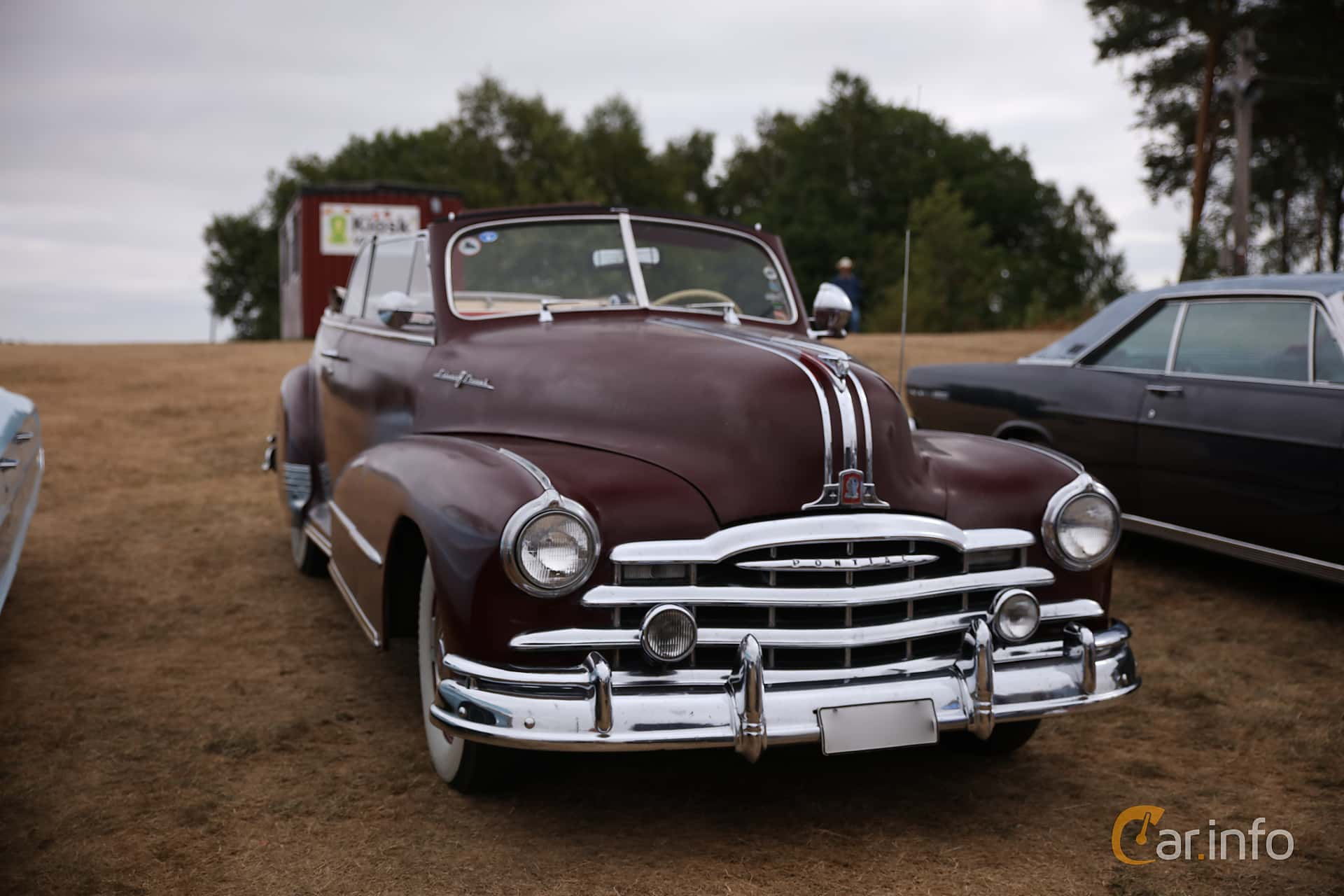3 Images Of Pontiac Torpedo Convertible 41 Hydra Matic 105hp 1948 Front Side 105ps At