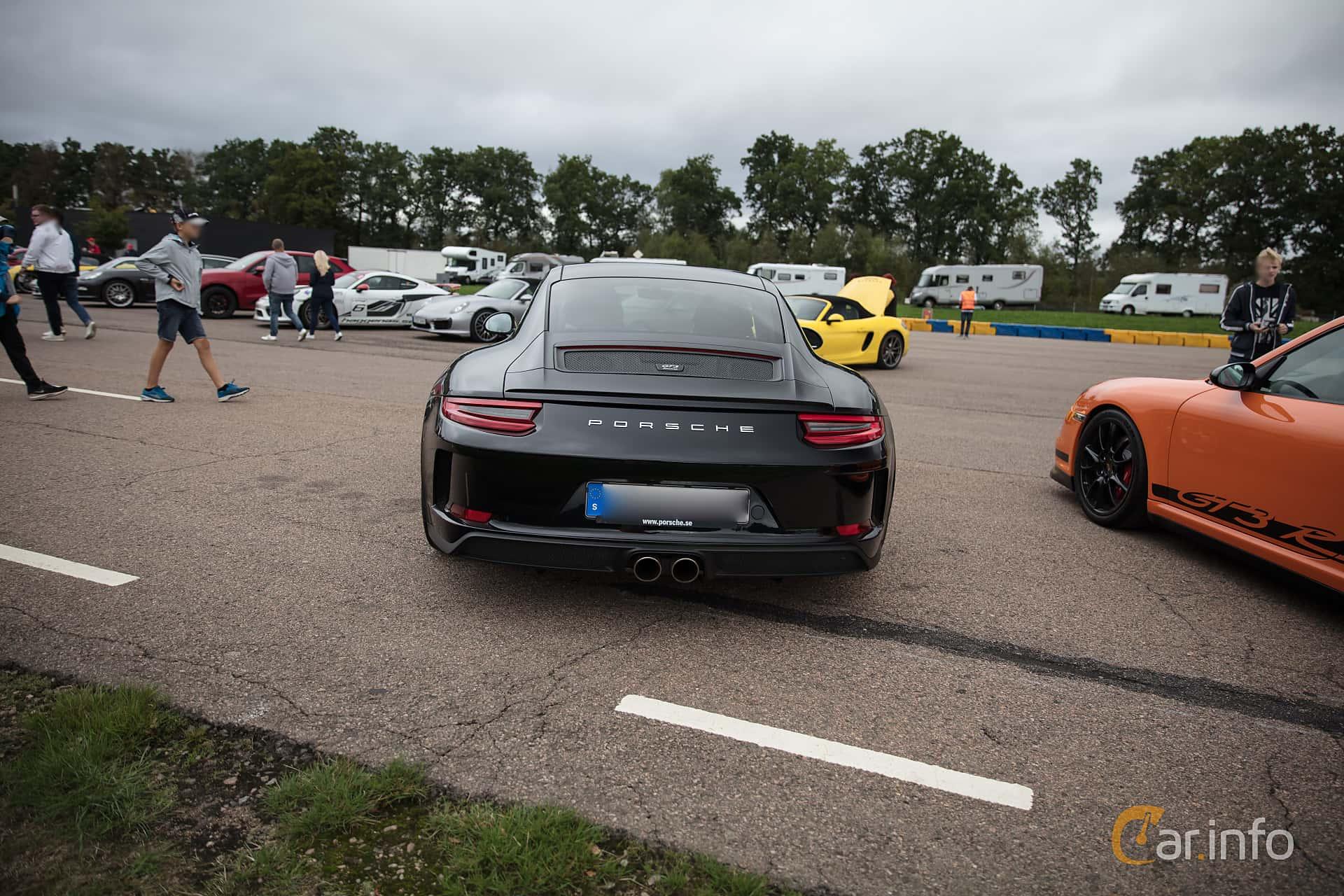 Porsche 911 GT3 4.0 H6 Manual, 500hp, 2018 at Autoropa Racing day Knutstorp 2018