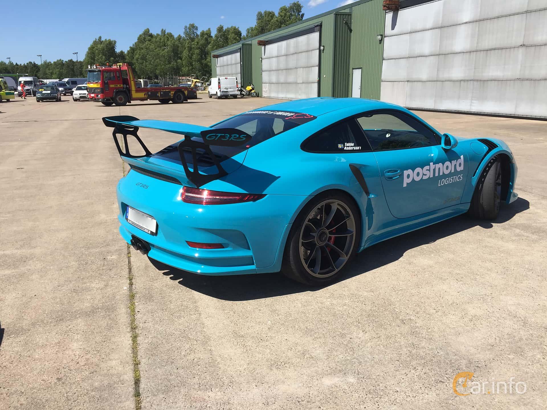 Porsche 911 GT3 RS 4.0 H6 PDK, 500hp, 2016