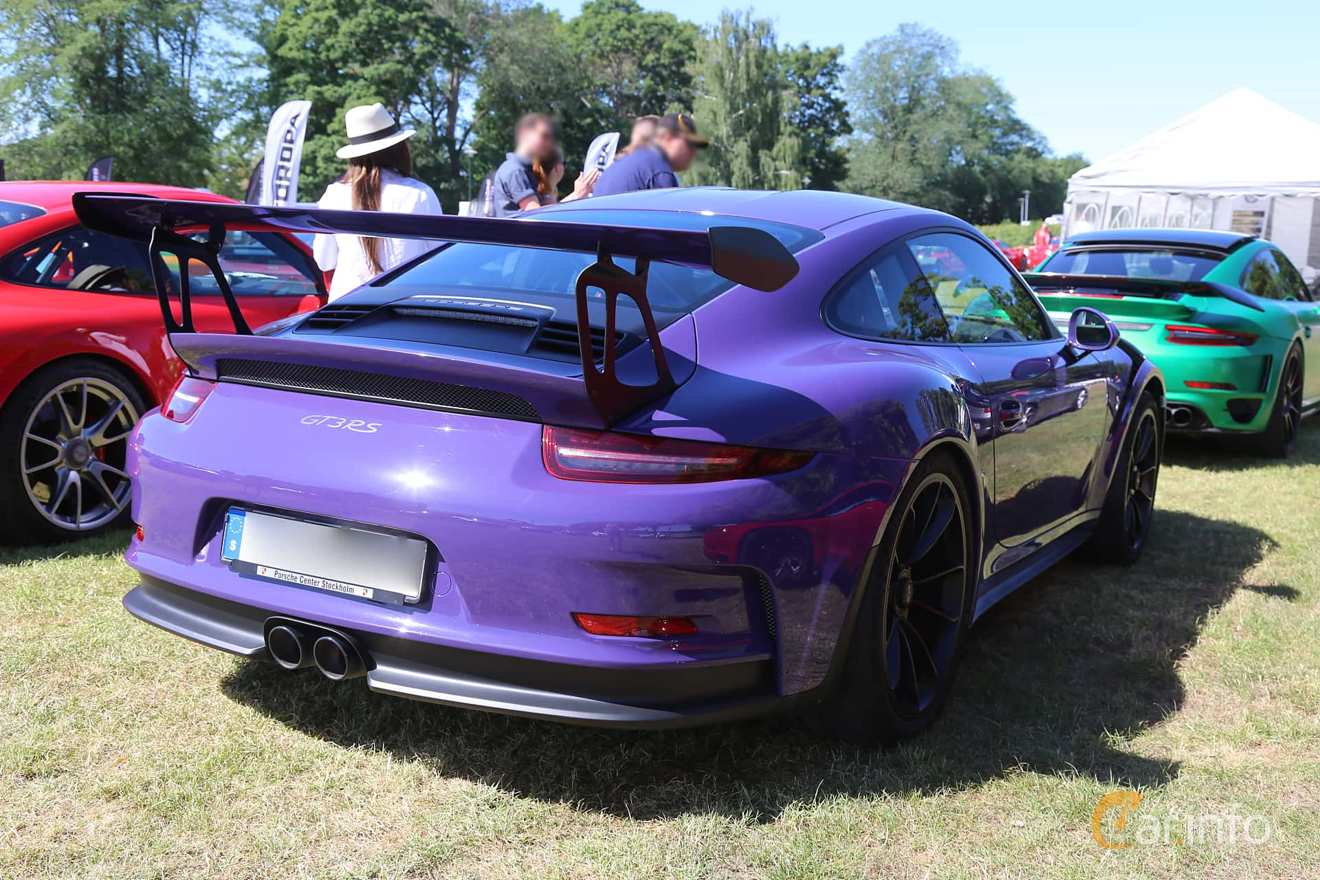 Porsche 911 GT3 RS 4.0 H6 PDK, 500hp, 2016 at Cars and Coffee Stockholm 2018