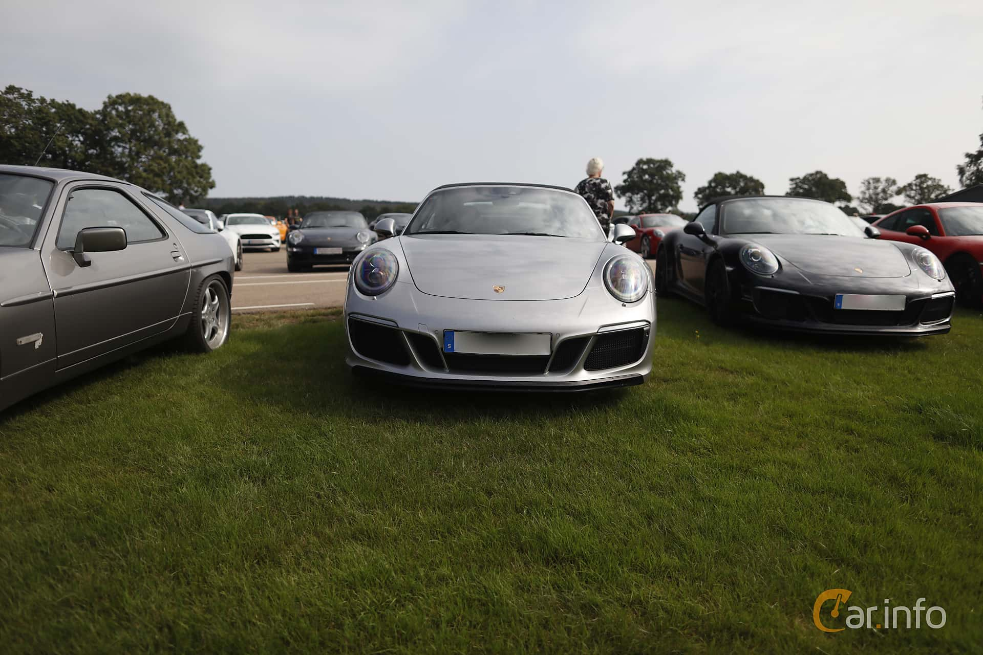 Front  of Porsche 911 Carrera 4 GTS Cabriolet  PDK, 450ps, 2017 at Autoropa Racing day Knutstorp 2019