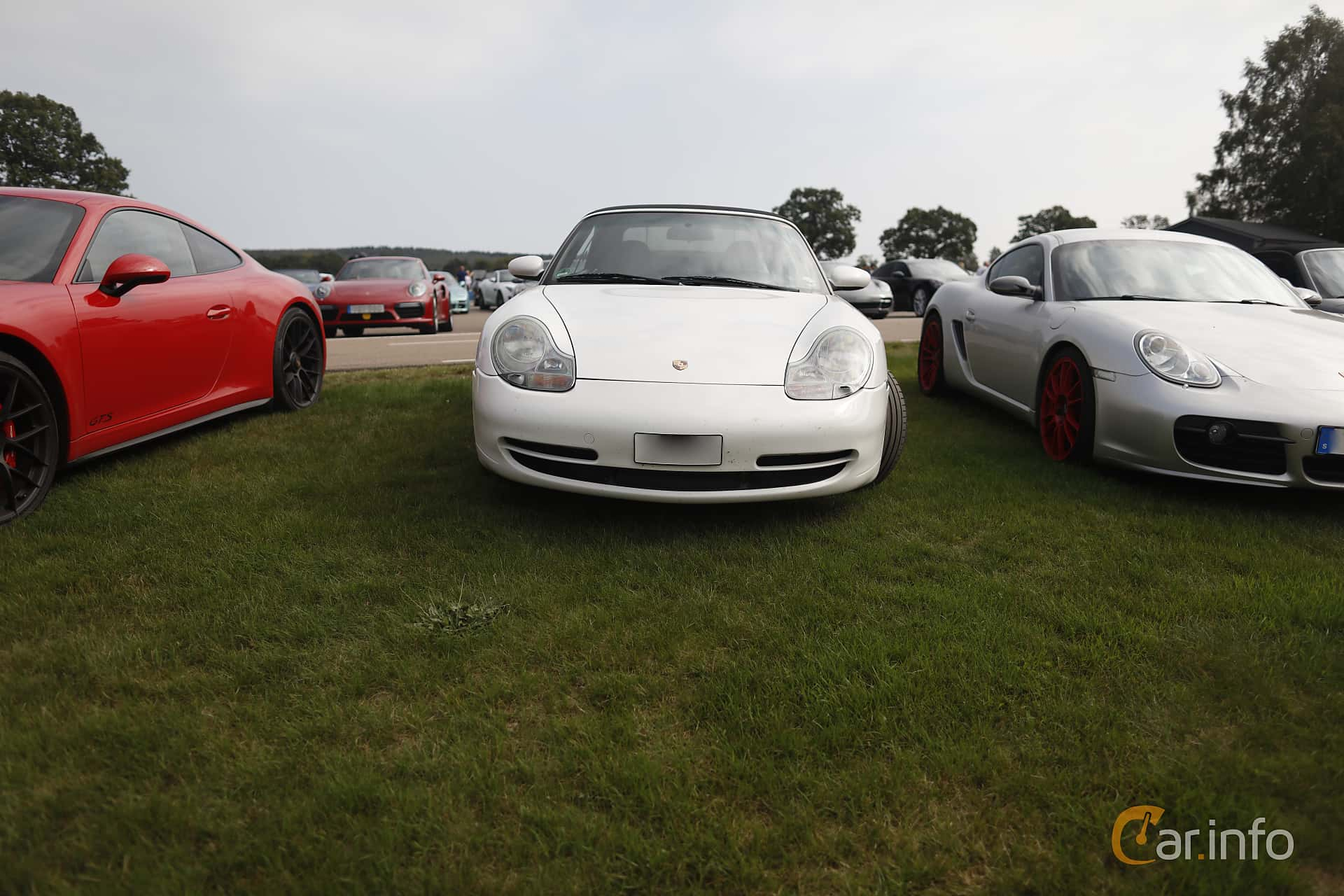 Front  of Porsche 911 Carrera Cabriolet  Manual, 300ps, 2001 at Autoropa Racing day Knutstorp 2019