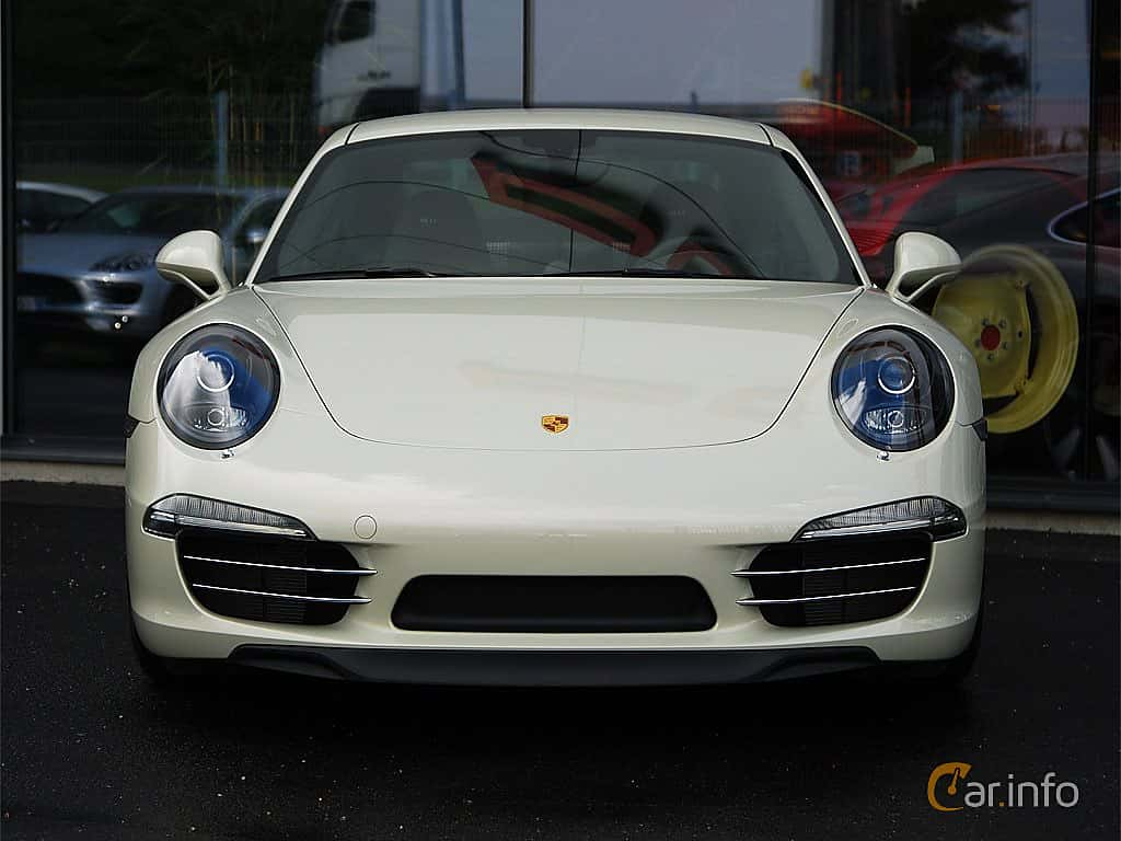 Fram av Porsche 911 Carrera S 3.8 H6 Manual, 400ps, 2014