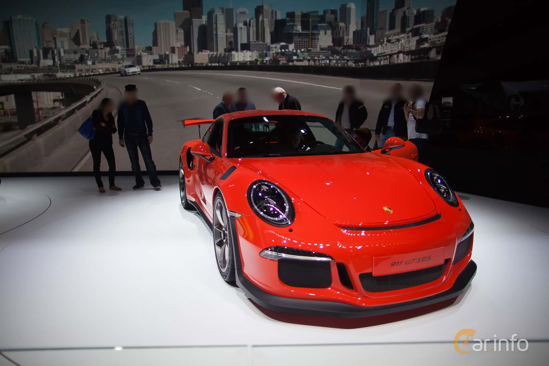 Porsche 911 GT3 RS 4.0 H6 PDK, 500hp, 2016 at Geneva Motor Show 2015