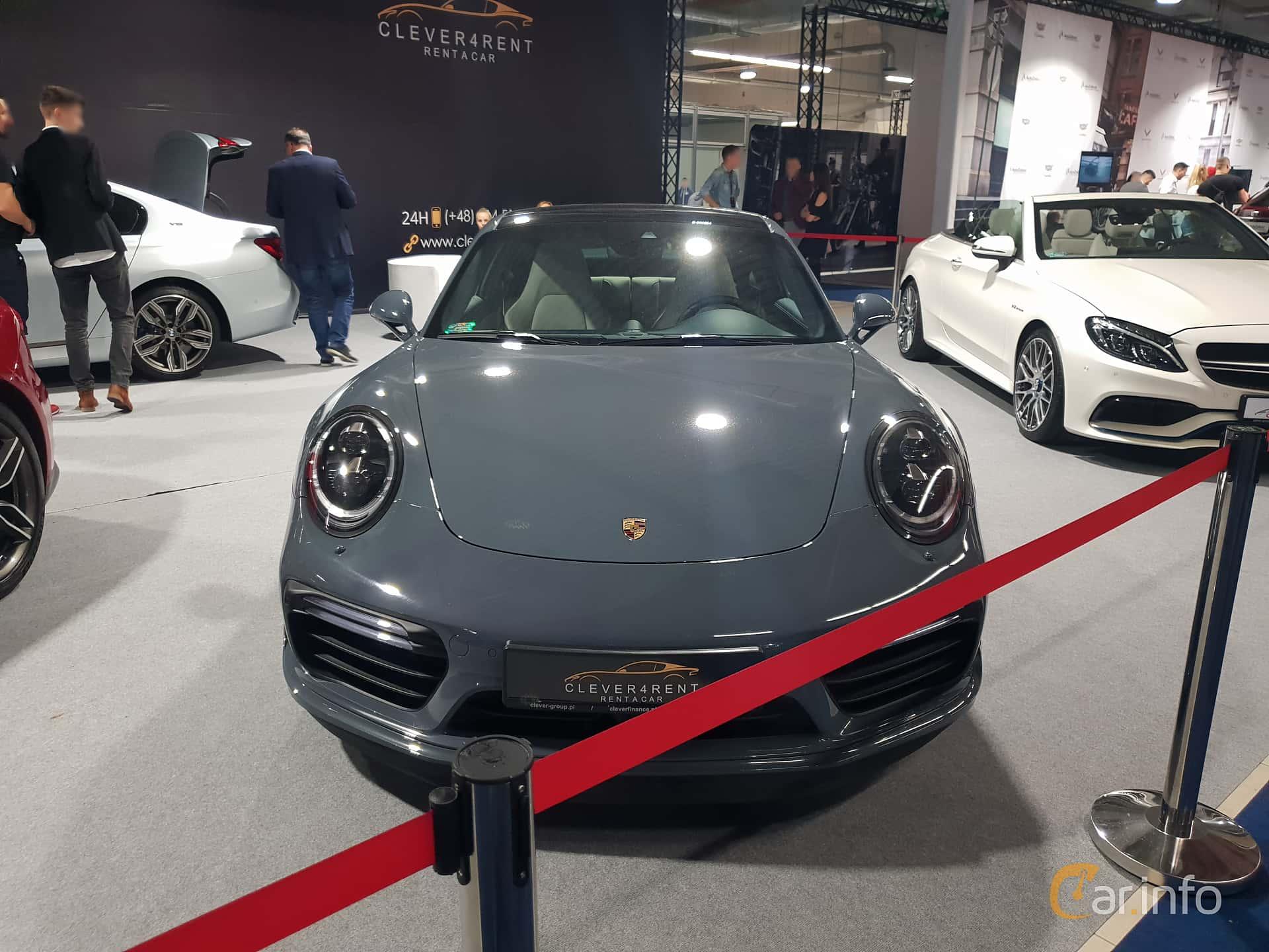 Front  of Porsche 911 2017 at Warsawa Motorshow 2018
