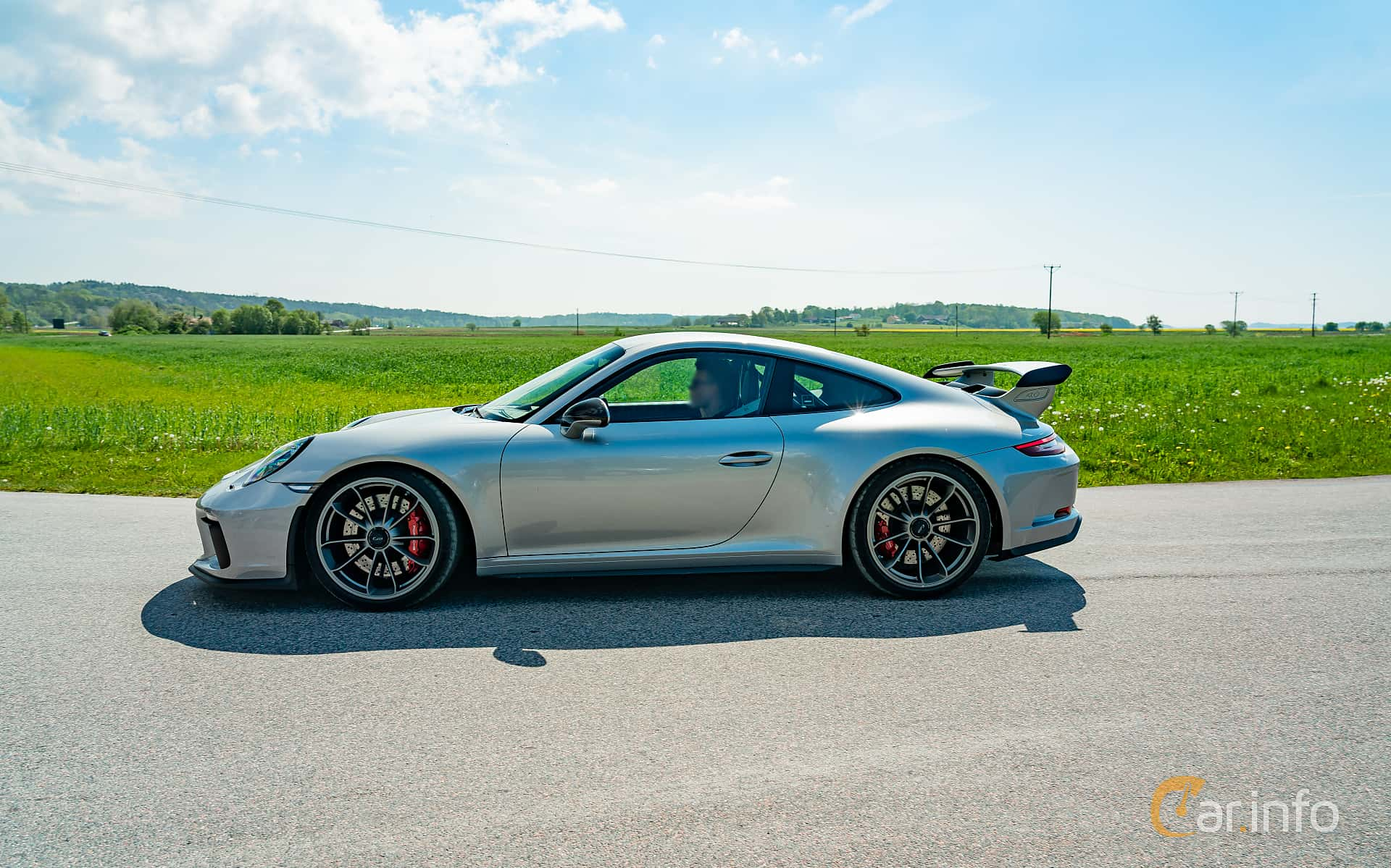 Porsche 911 GT3 4.0 H6 Manual, 500hp, 2018 at Tjolöholm Classic Motor 2019