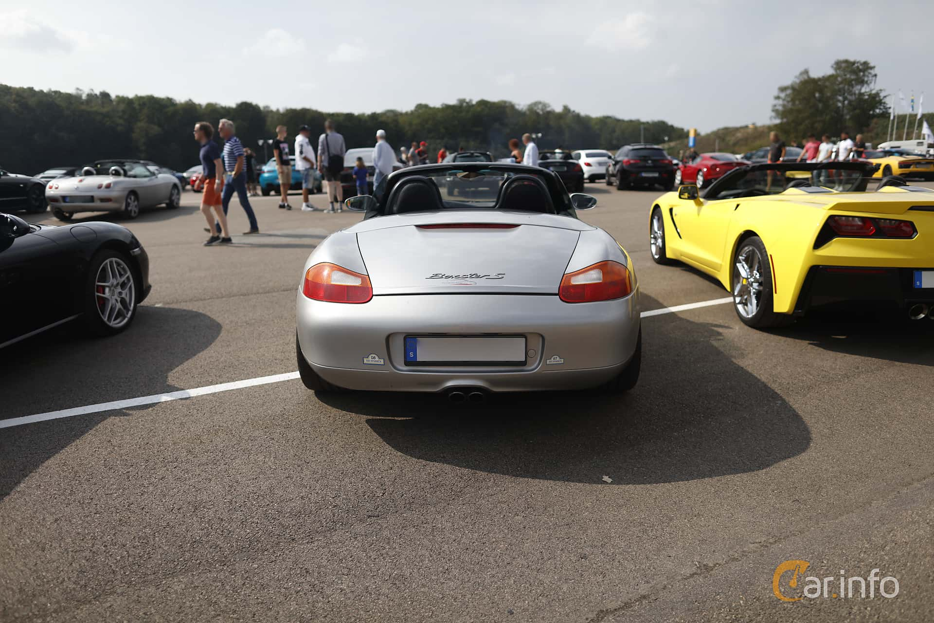 Porsche Boxster S  Manual, 253hp, 2001 at Autoropa Racing day Knutstorp 2019