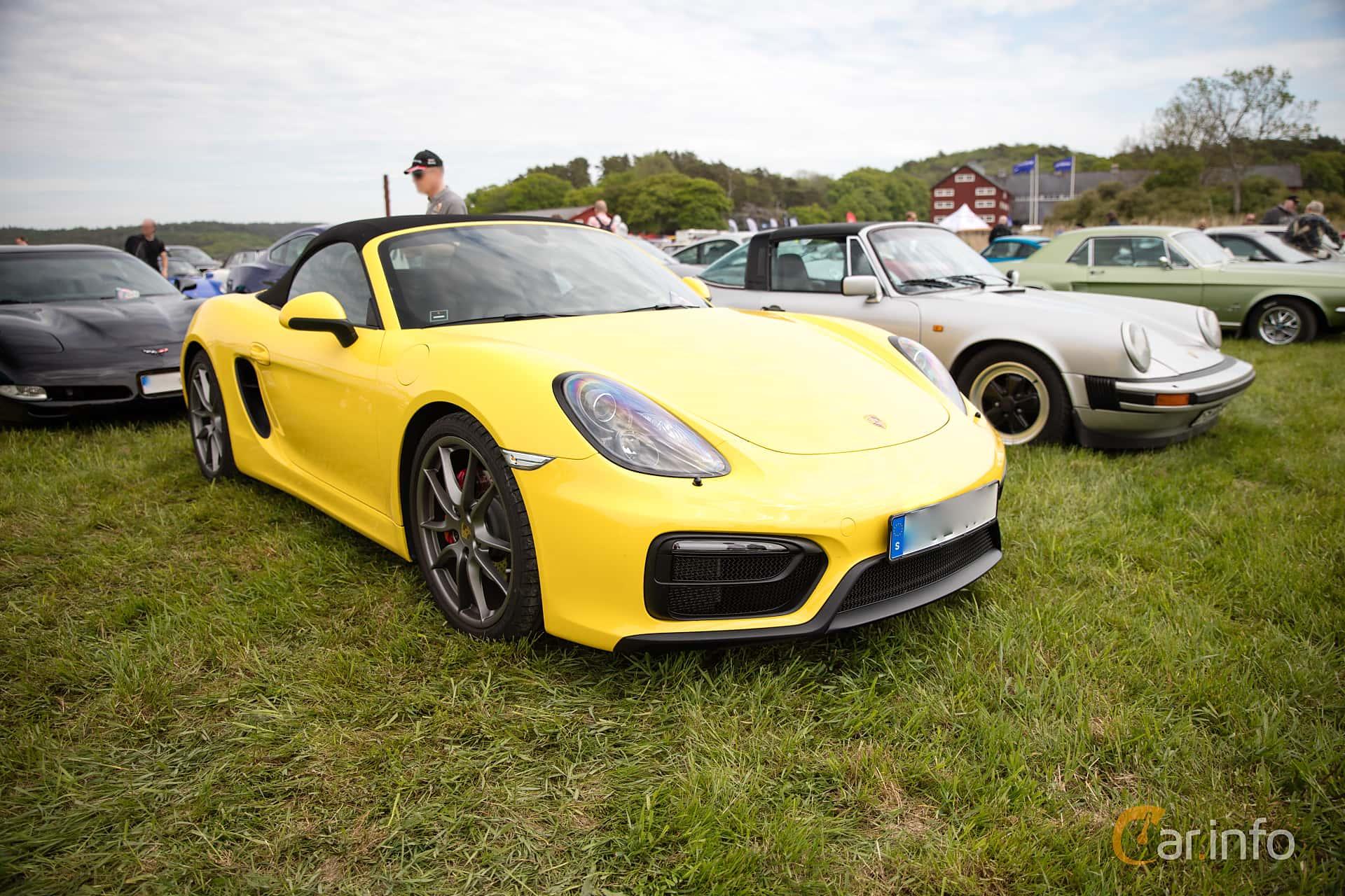 Porsche Boxster GTS 3.4 H6 PDK, 330hp, 2016 at Tjolöholm Classic Motor 2016