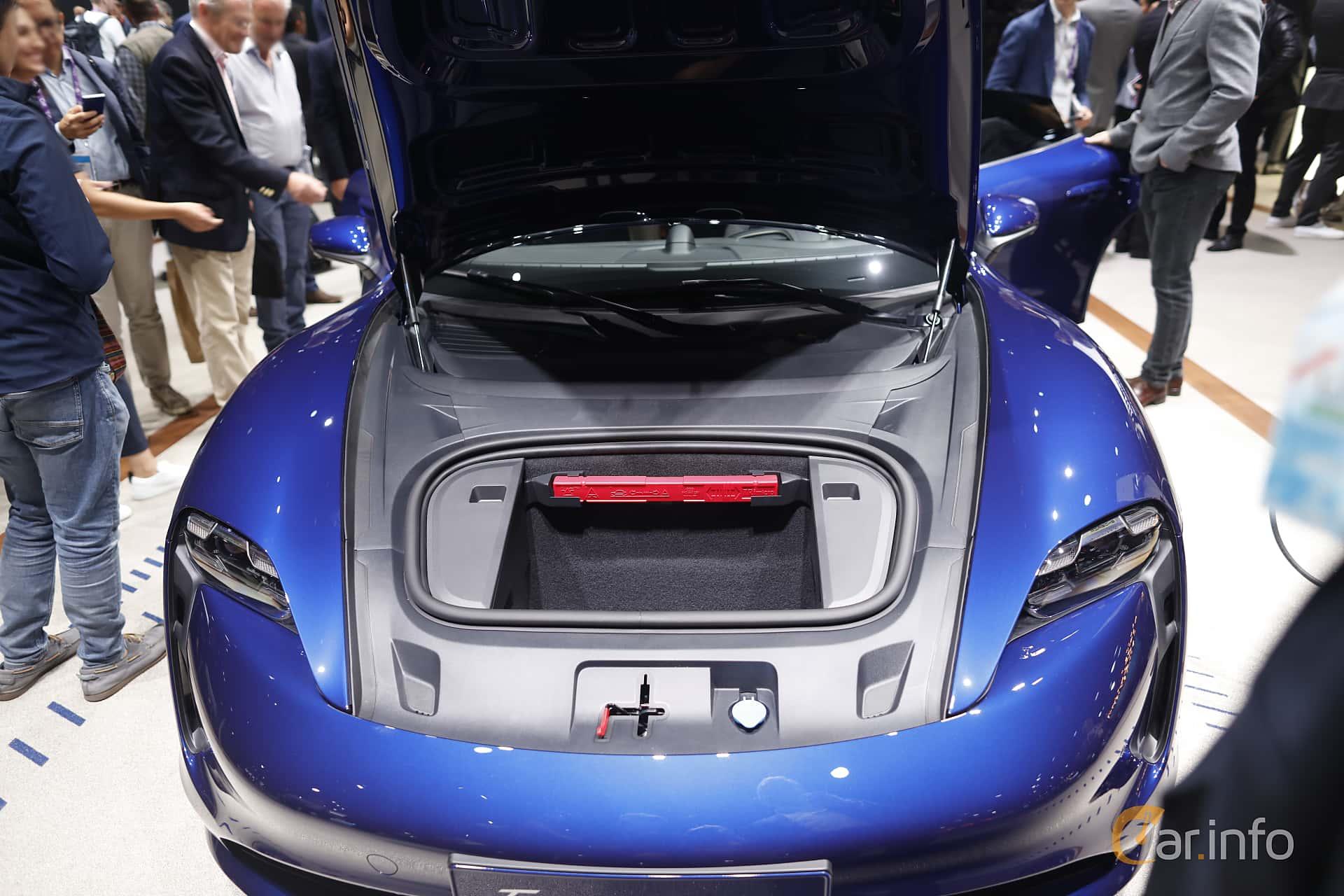 Porsche Taycan Turbo  Single Speed, 680hp, 2020 at IAA 2019