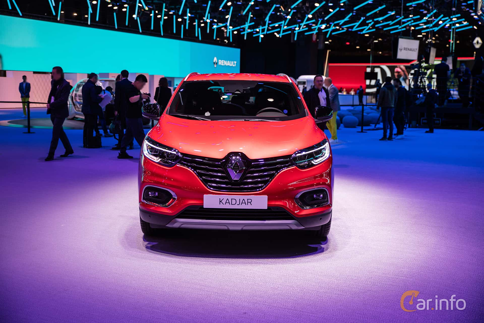 Renault Kadjar 1.5 Blue dCi EDC, 115hp, 2019 at Paris Motor Show 2018