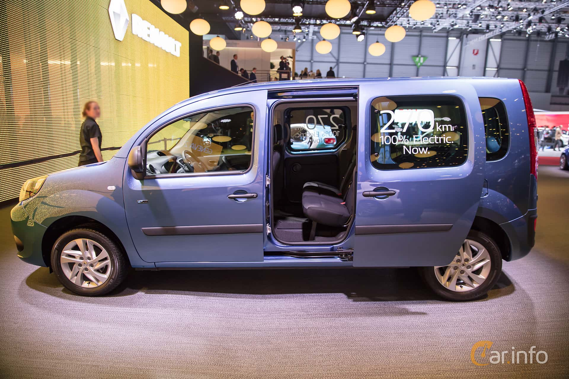 renault kangoo z e express maxi passenger 22 kwh single speed 60hp 2017 at geneva motor show 2017. Black Bedroom Furniture Sets. Home Design Ideas