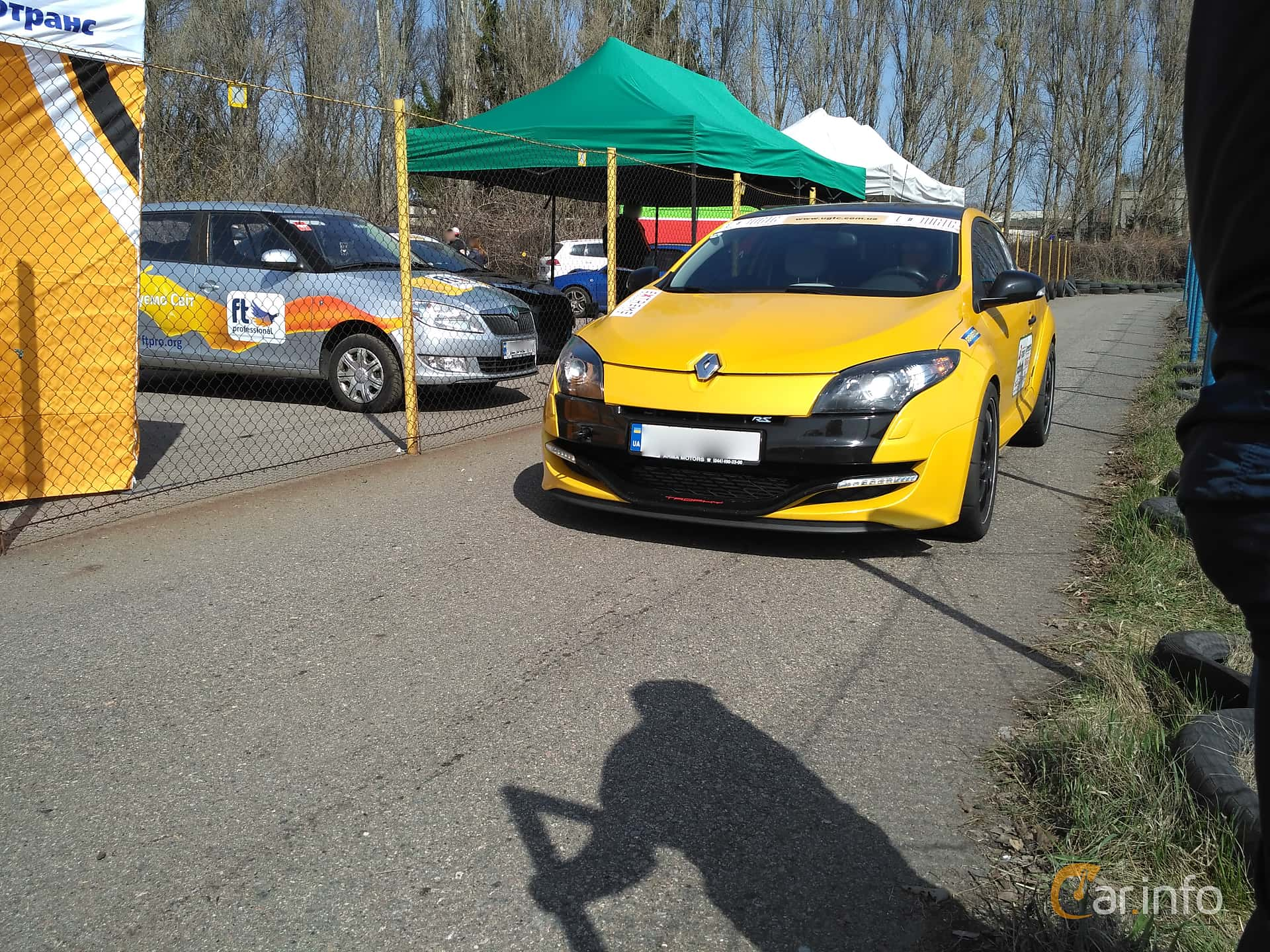 Renault Mégane RS 2.0 TCe Manuell, 265hk, 2012 at Ltava Time Attack 1st Stage