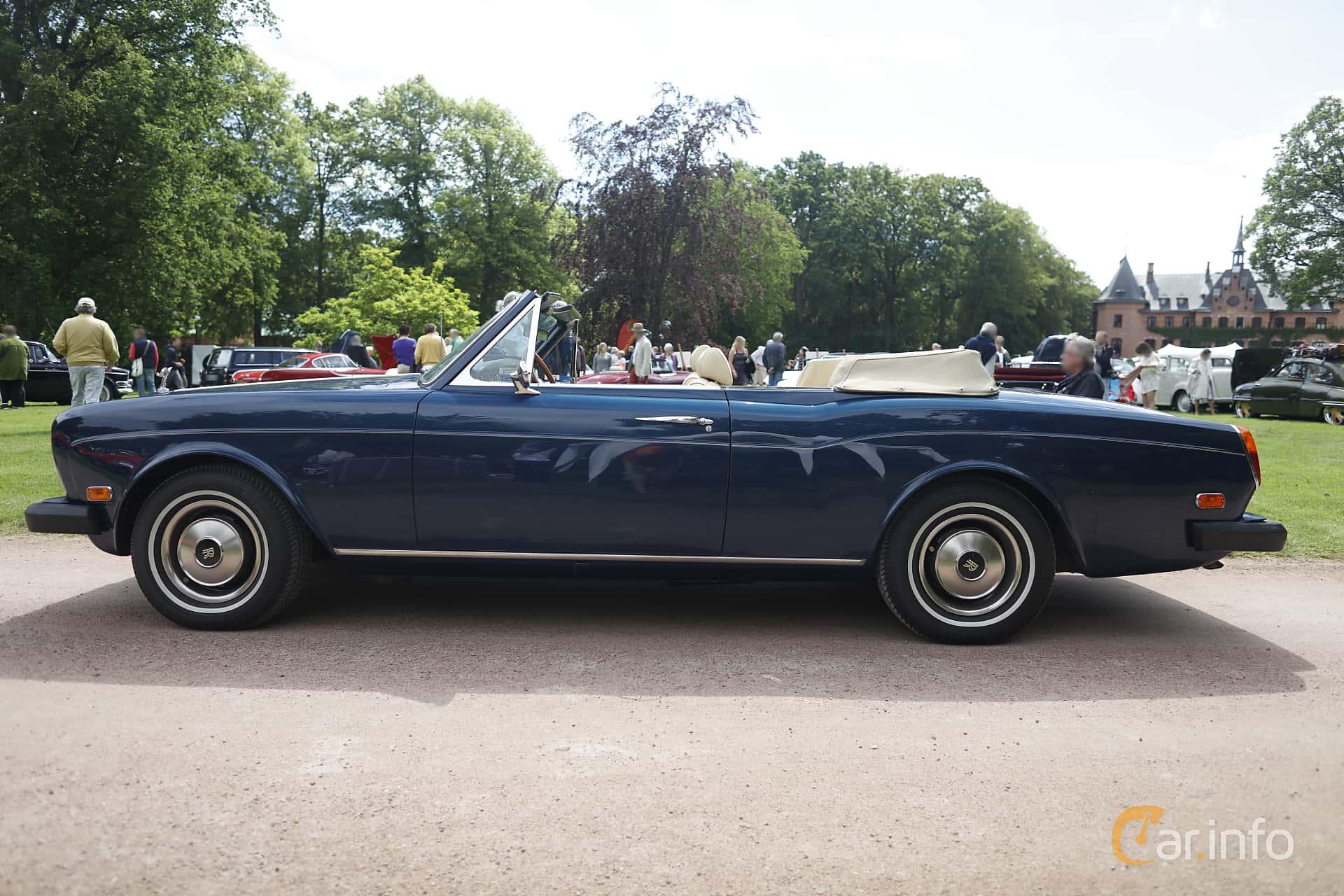 Rolls-Royce Corniche Convertible 6.8 V8 Automatic, 200hp, 1975 at Sofiero Classic 2019