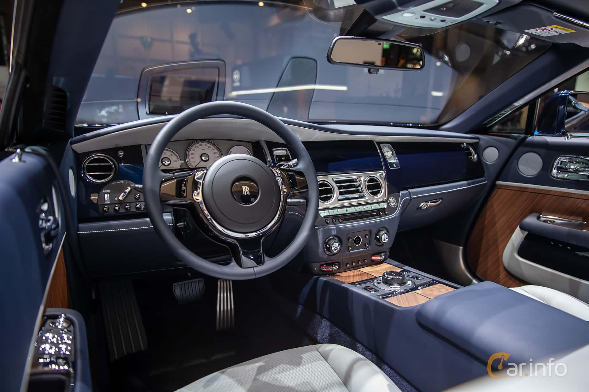 Rolls-Royce Dawn 6.6 V12 Automatic, 570hp, 2019 at Geneva Motor Show 2019