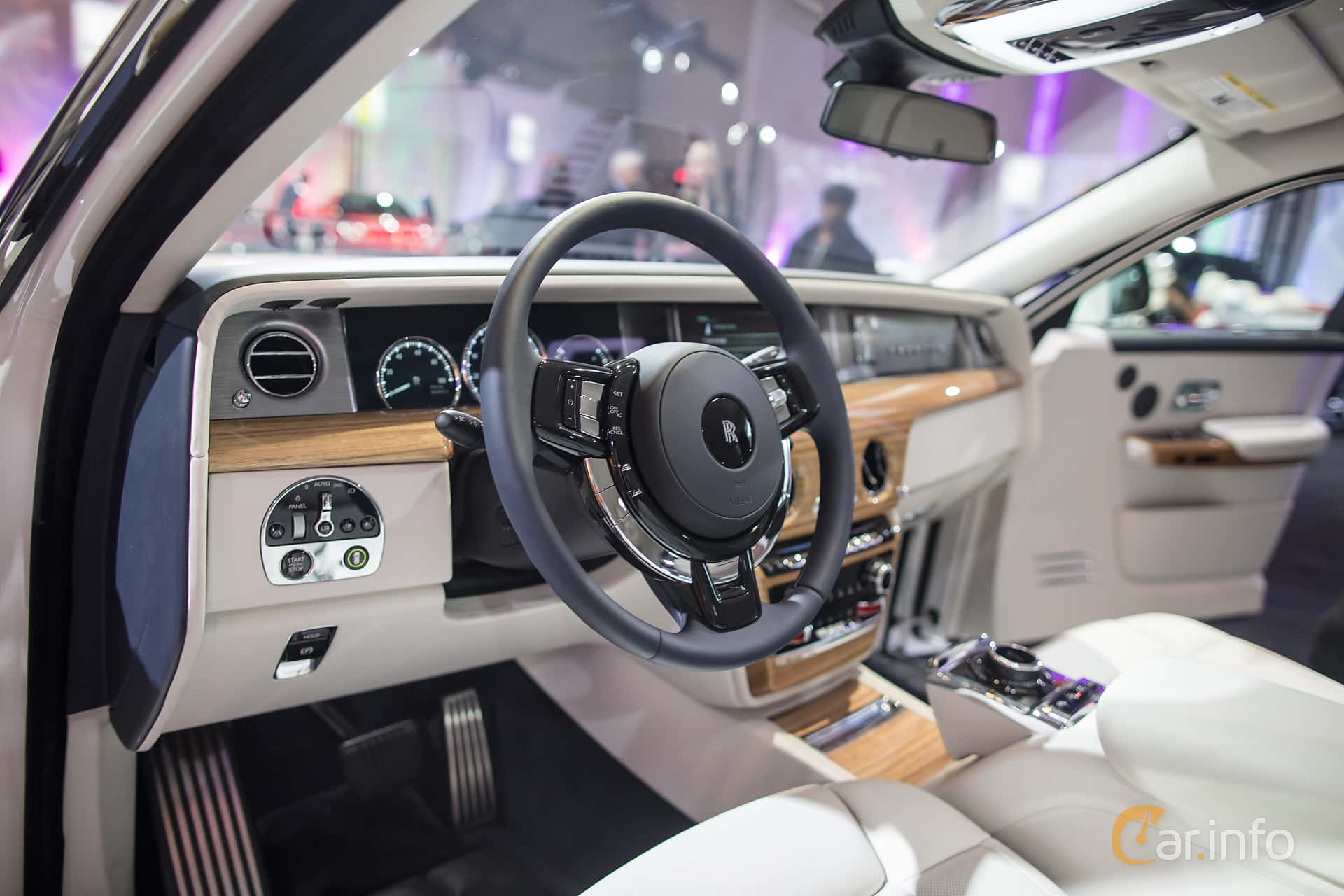 Rolls Royce Phantom 6 7 V12 Automatic 571hp 2018 At North American International Auto Show 2018