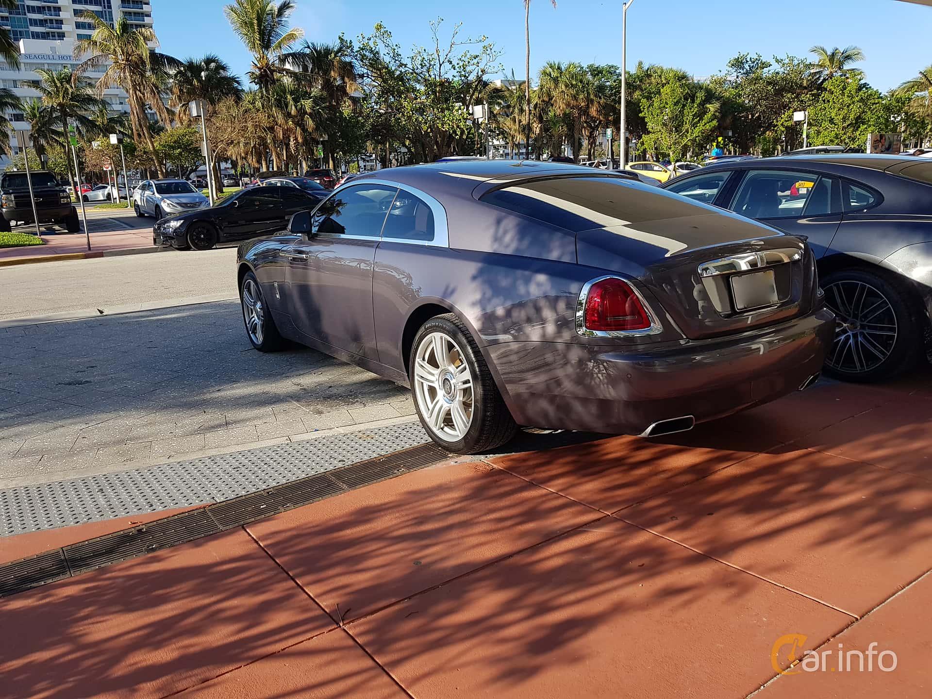 Rolls-Royce Wraith Coupé 6.6 V12 Automatic, 632hp, 2014