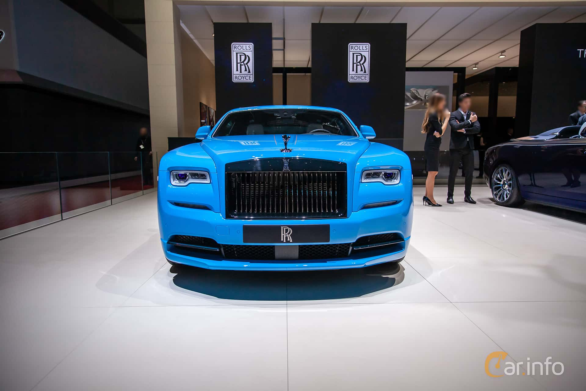 Front  of Rolls-Royce Wraith Coupé 6.6 V12 Automatic, 632ps, 2019 at Geneva Motor Show 2019