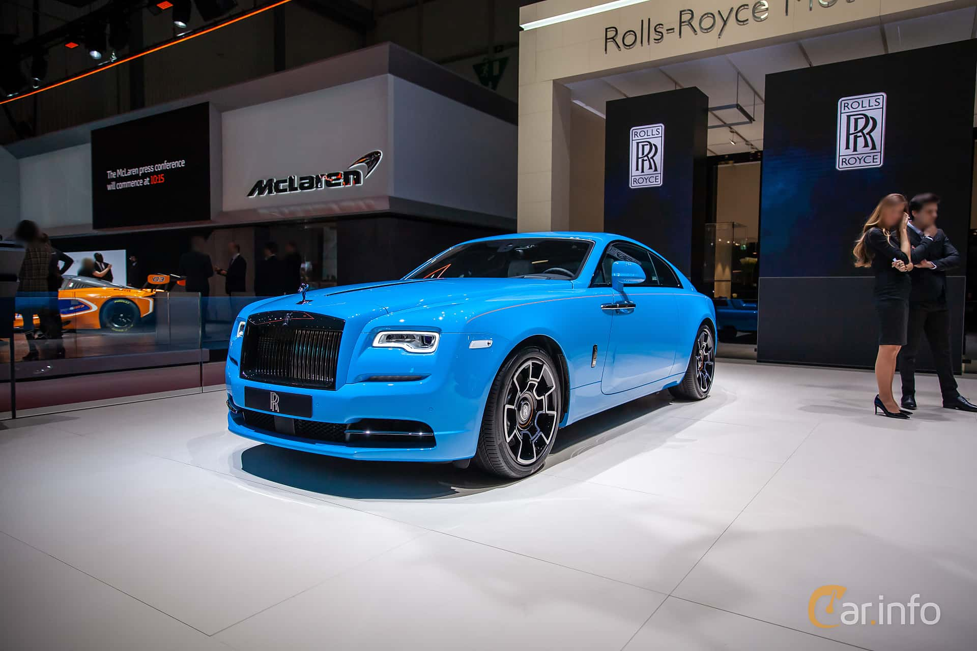 Rolls-Royce Wraith Coupé 6.6 V12 Automatic, 632hp, 2019 at Geneva Motor Show 2019