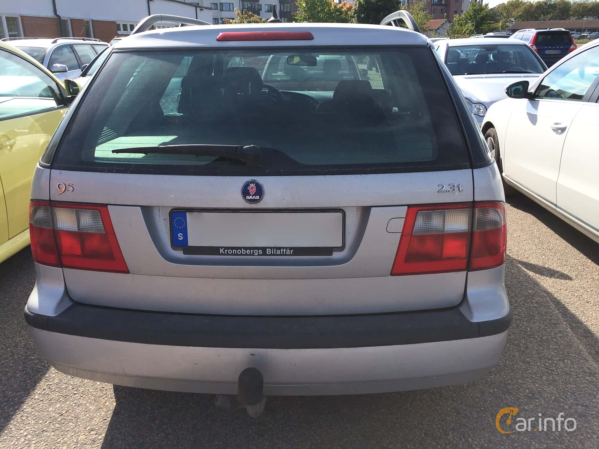 Back Of Saab 9 5 SportCombi 20 T Manual 150ps 2004