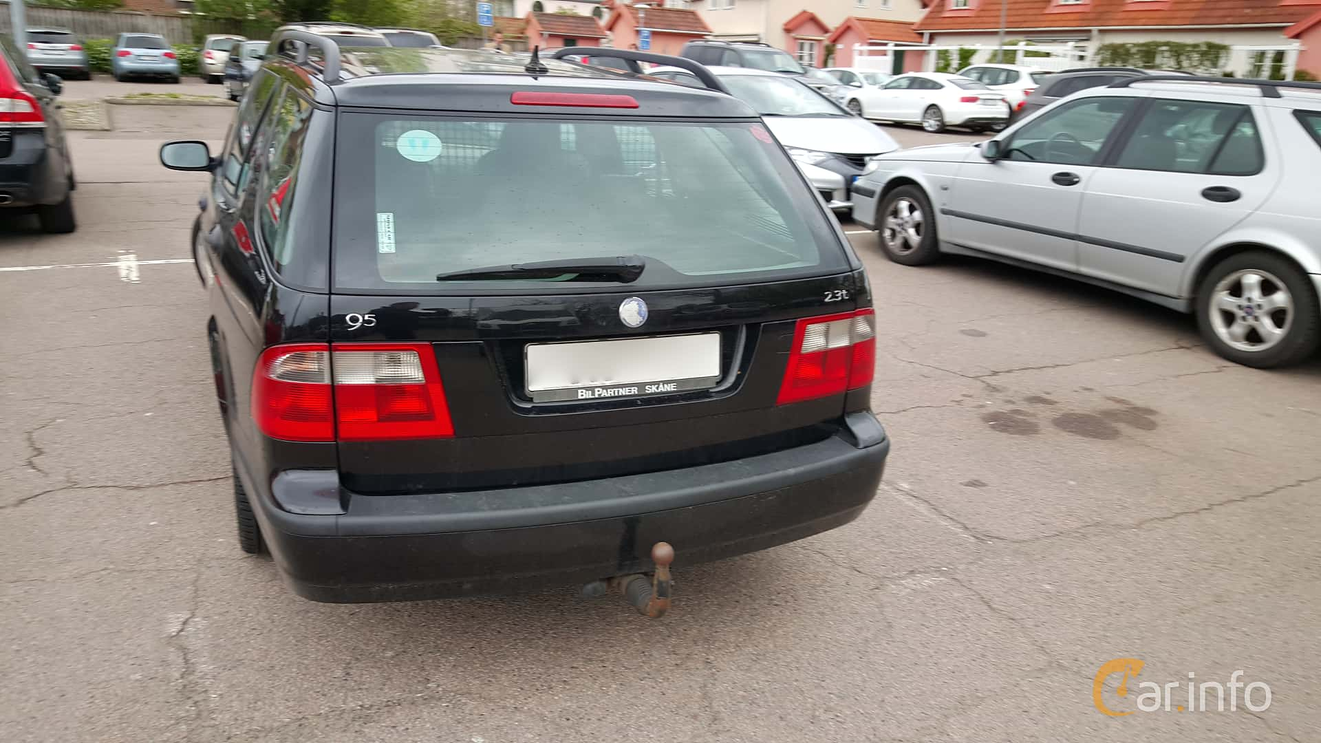 Back Of Saab 9 5 SportCombi 23 T Manual 185ps 2003
