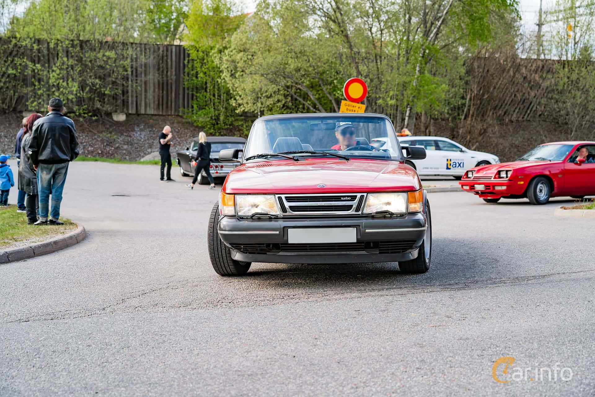 Saab 900 Convertible 2.0 Manual, 160hp, 1990 at Vårcruising Järna 2019