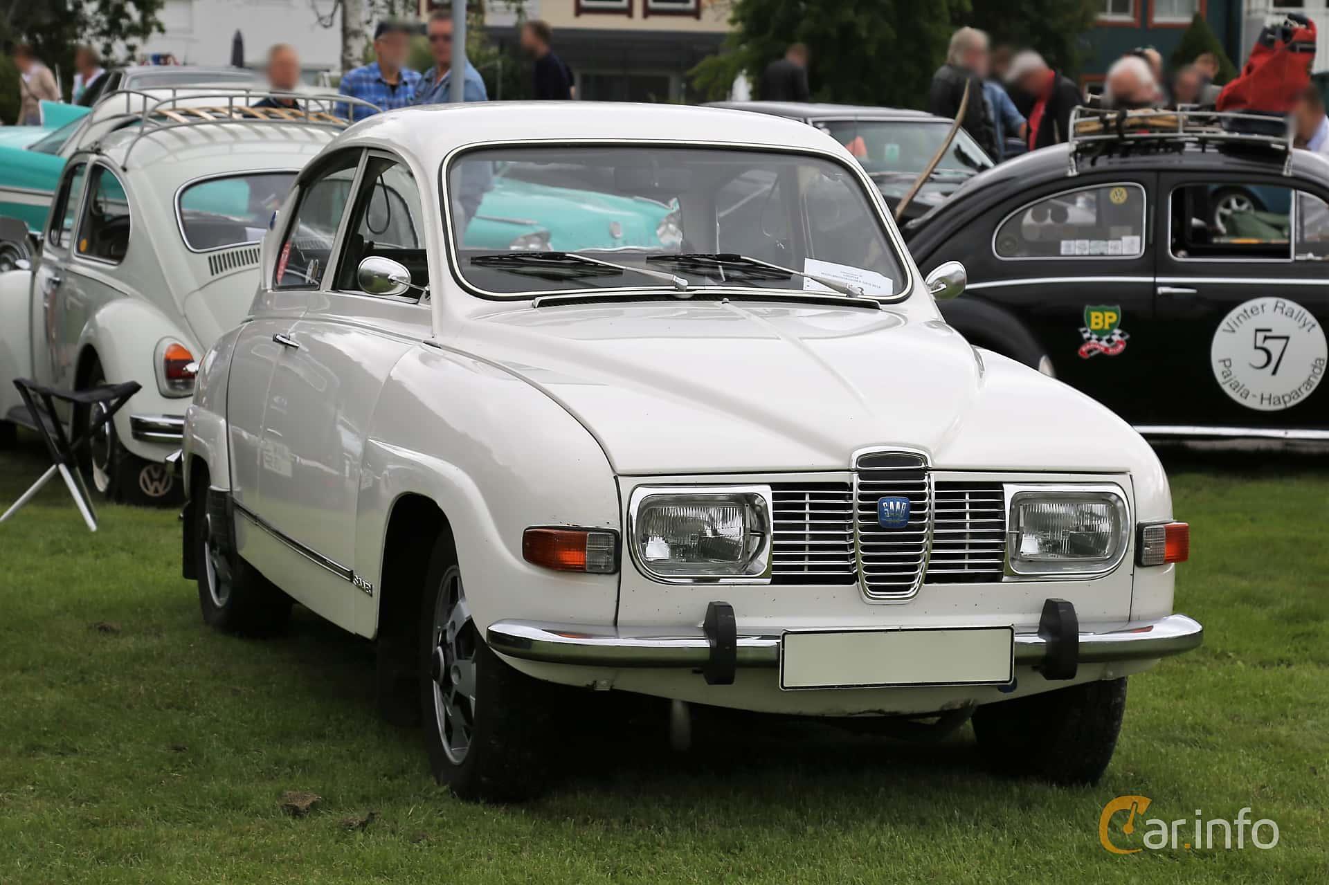 Saab 96 1.5 V4 Manual, 65hp, 1973 at Lödöse motornostalgiska dag 2019