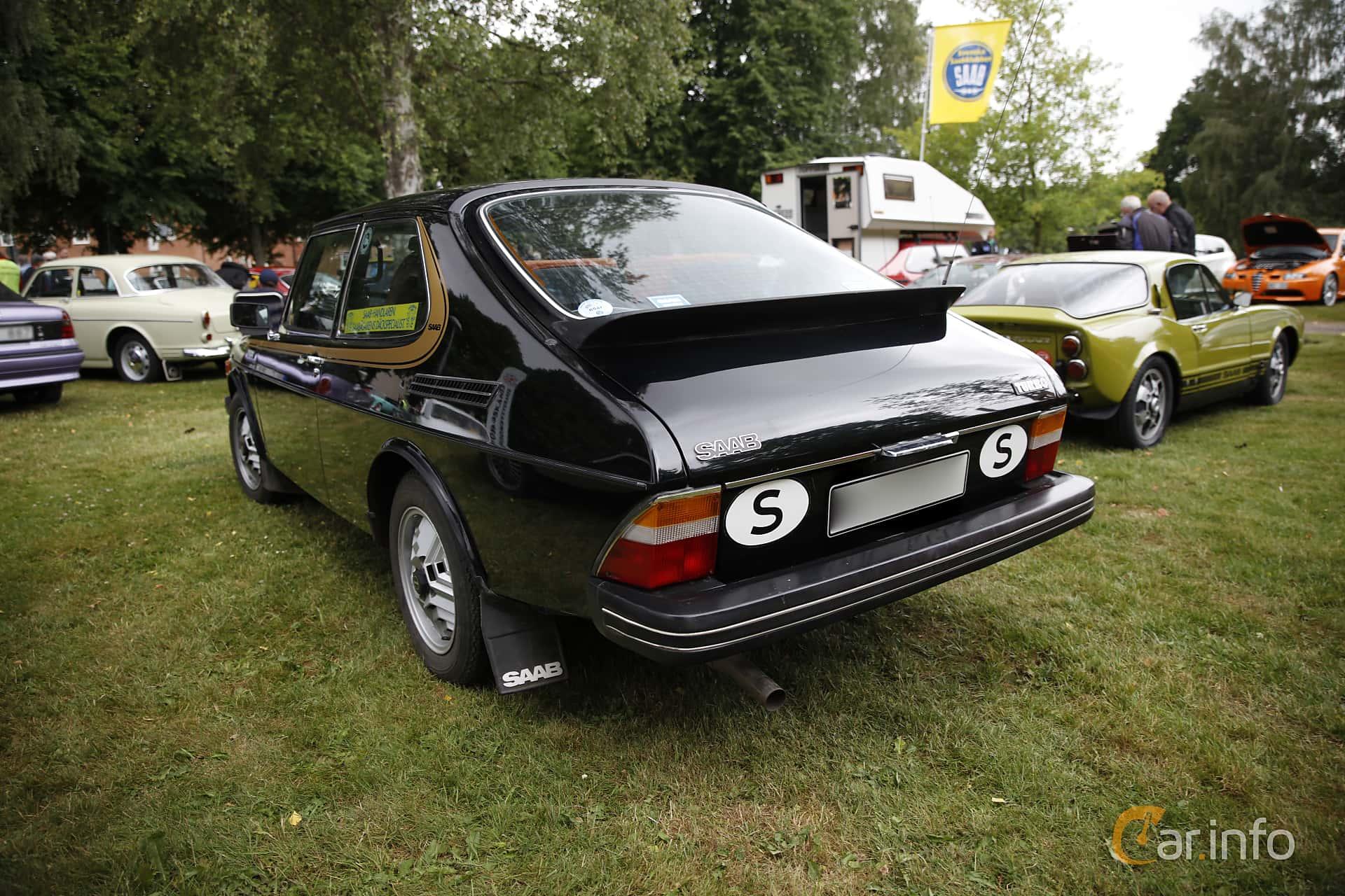 Saab 99 3-door Combi Coupé 2.0 Turbo Manual, 145hp, 1978 at Klippan Classic 2016