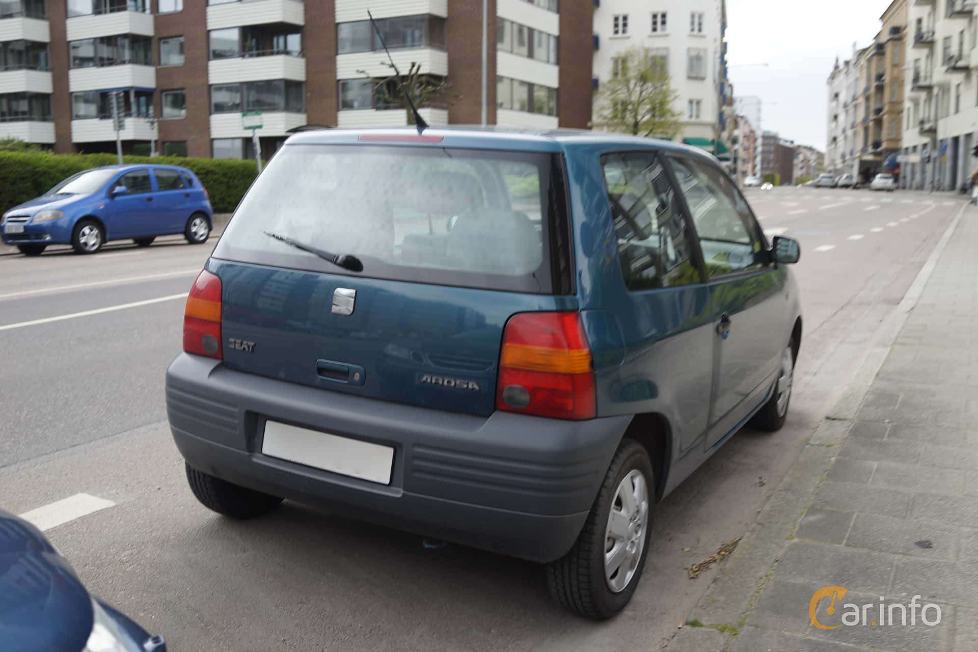 Back/Side of SEAT Arosa 1.4 Manual, 60ps, 1998